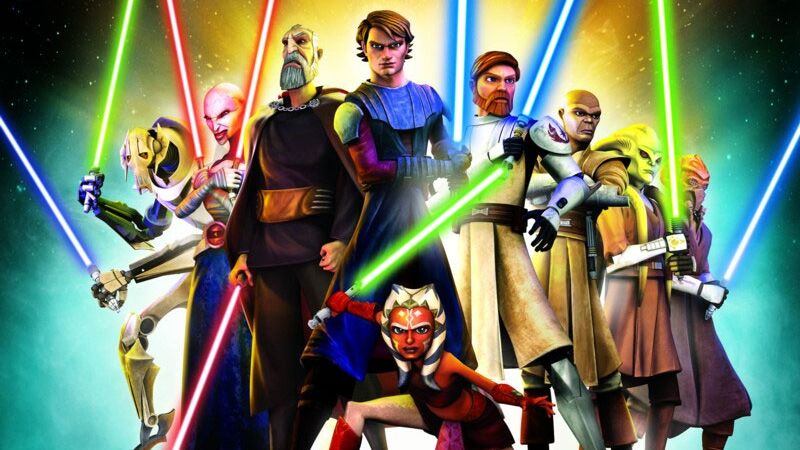 Star war the clone war movie
