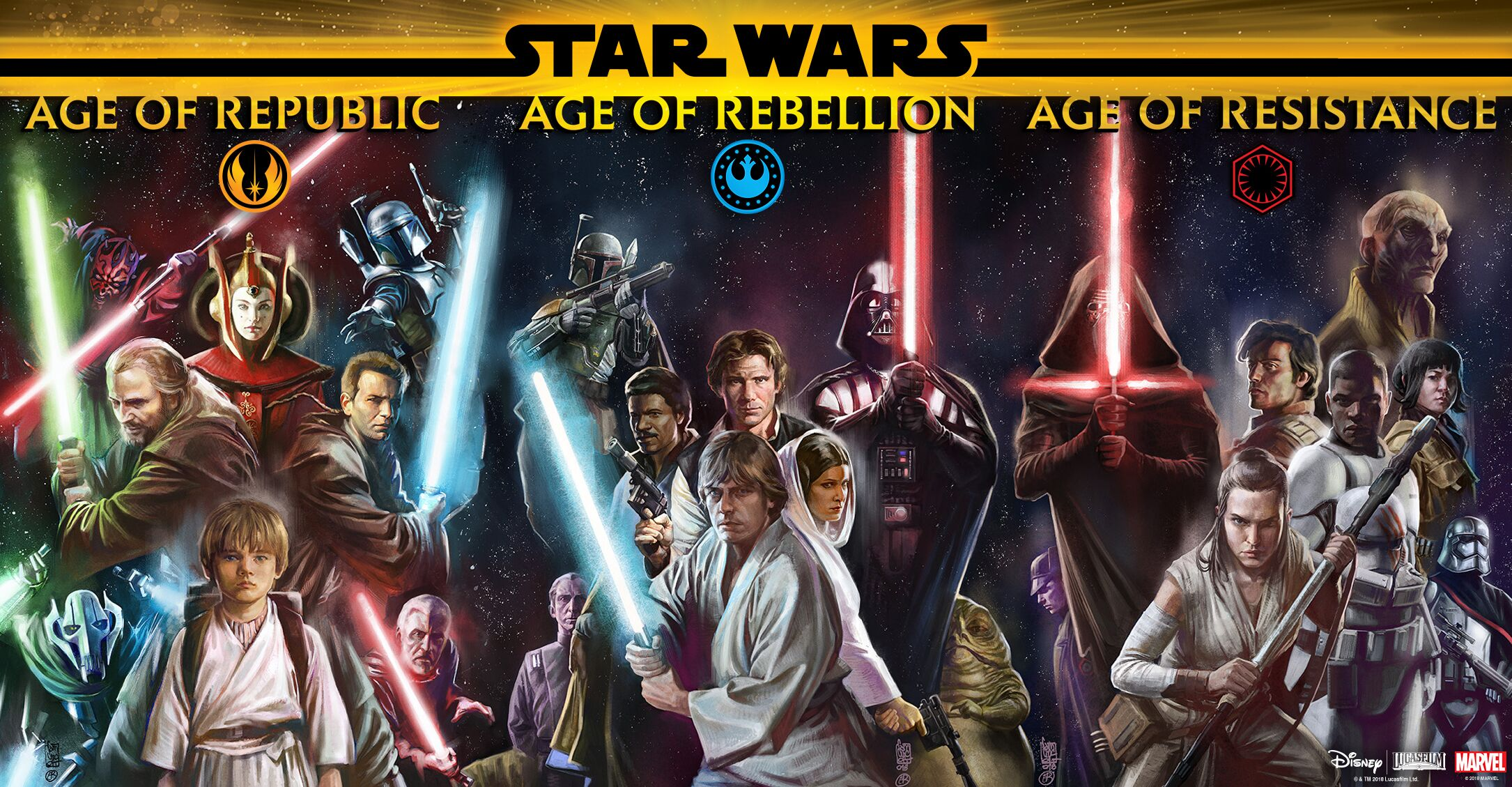 The five most anticipated Ages of Star Wars comics on the way