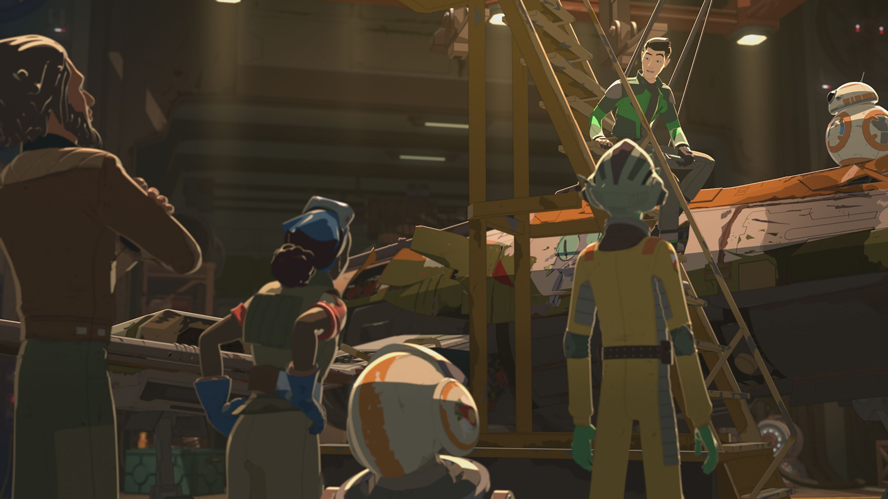 Fans debate over the animation in Star Wars: Resistance