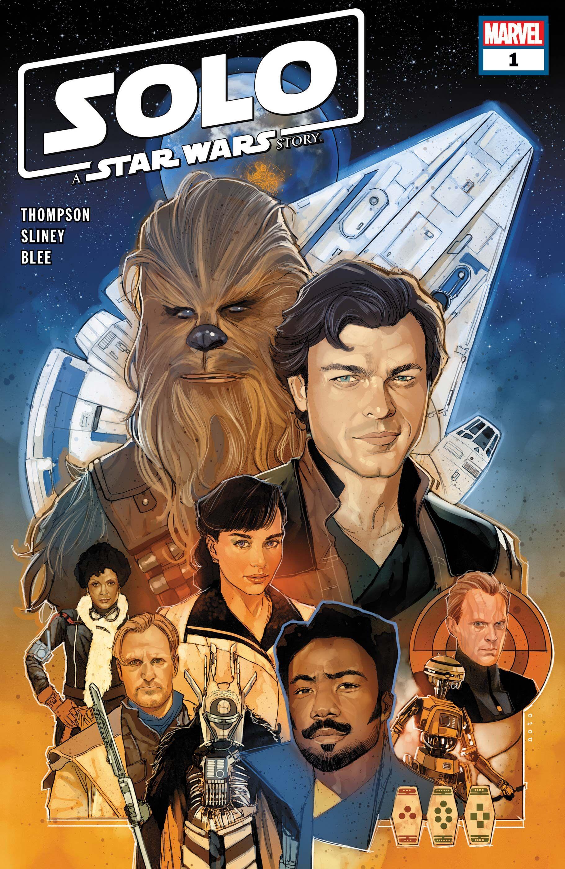 Star Wars comics: Solo: A Star Wars Story adaptation new this week