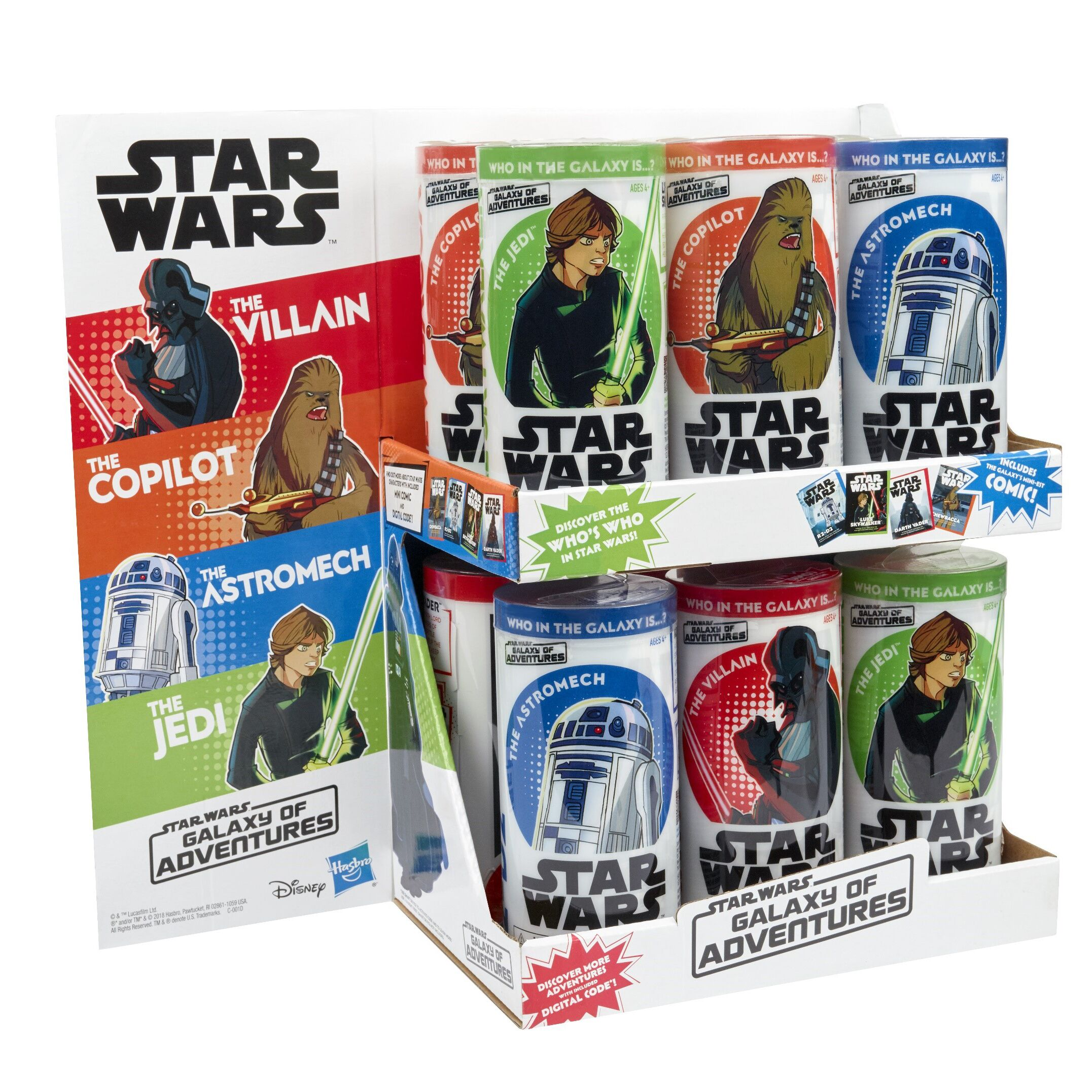 Five POA are MIA: Who's buying Star Wars action figures?
