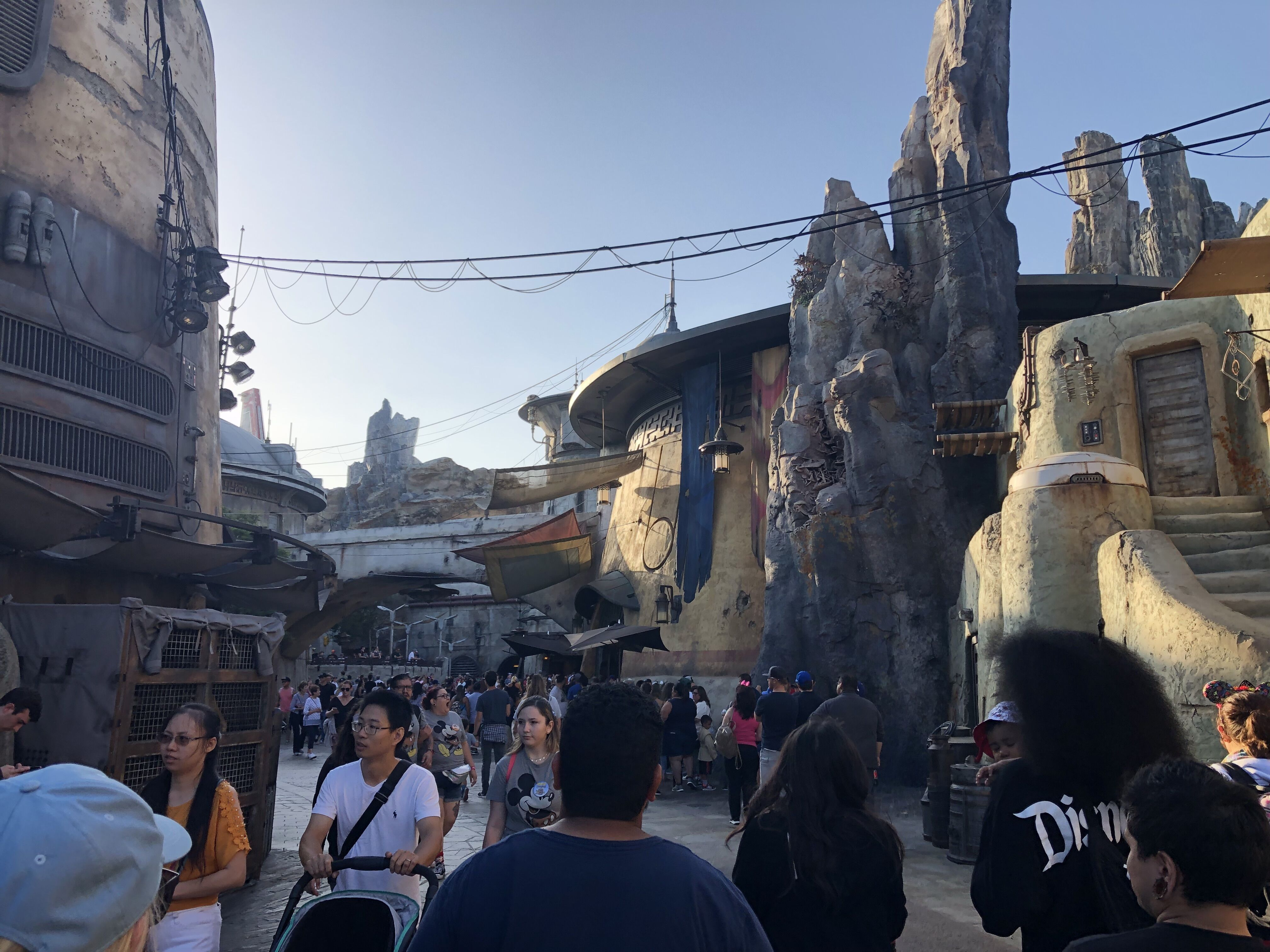 You can still enjoy Galaxy's Edge even if the food doesn't have 'Star Wars' names