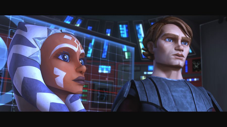 How far does the final season of The Clone Wars merge into Revenge of the Sith?