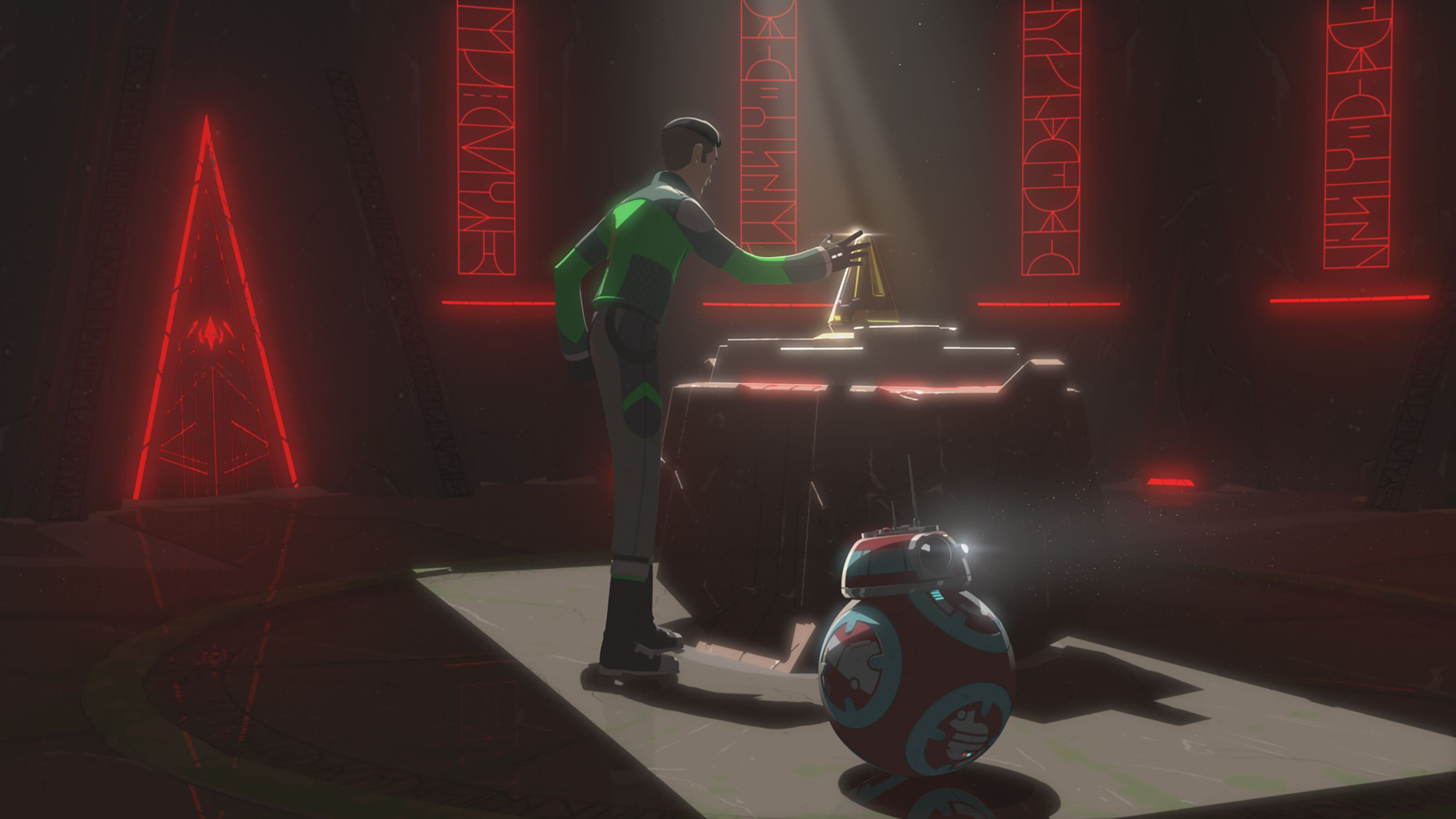 Star Wars Resistance recap: What did Kaz find in the Sith Temple?