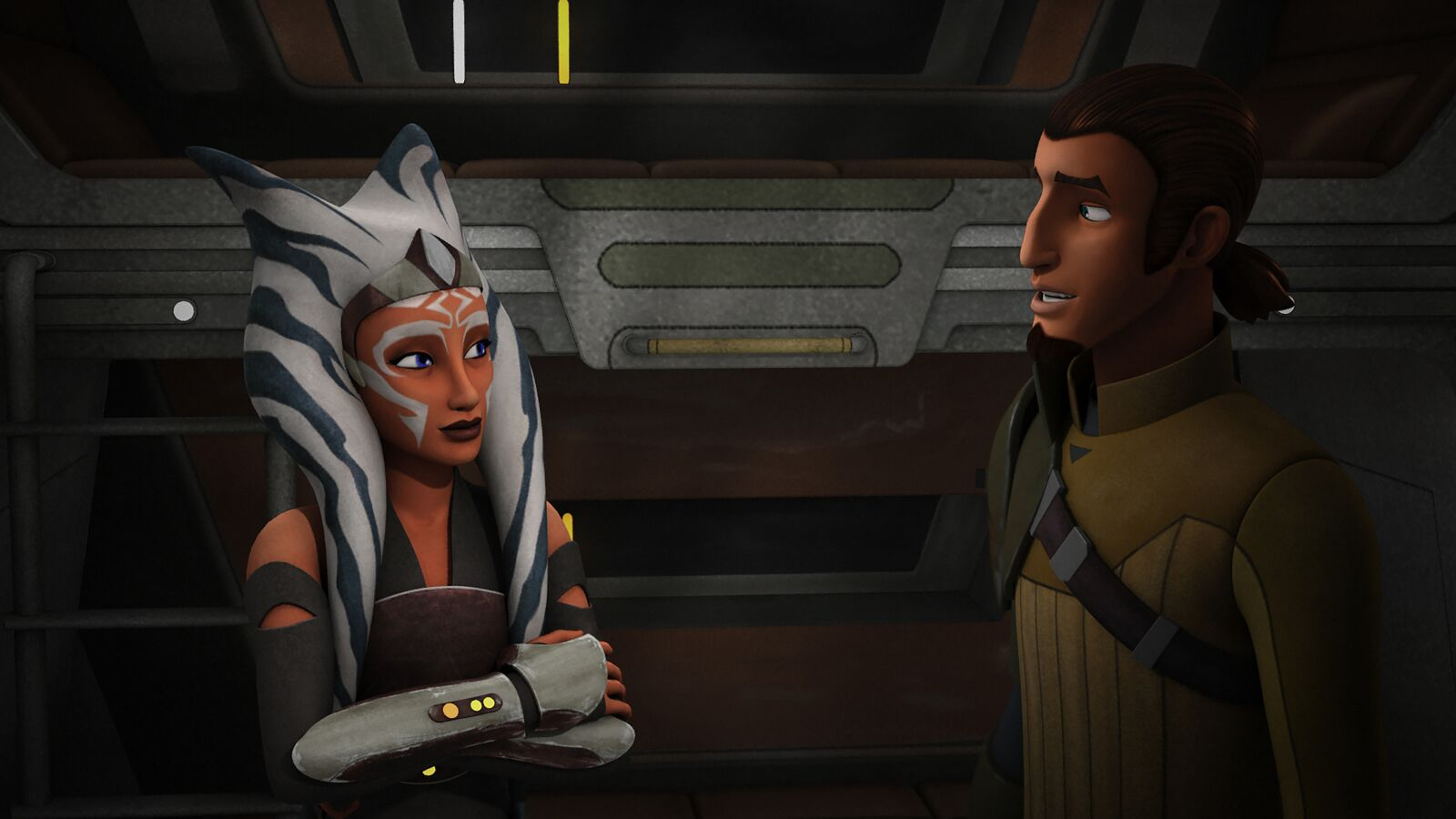 Clone Wars: New trailer includes appearance from a Rebels Kanan Jarrus