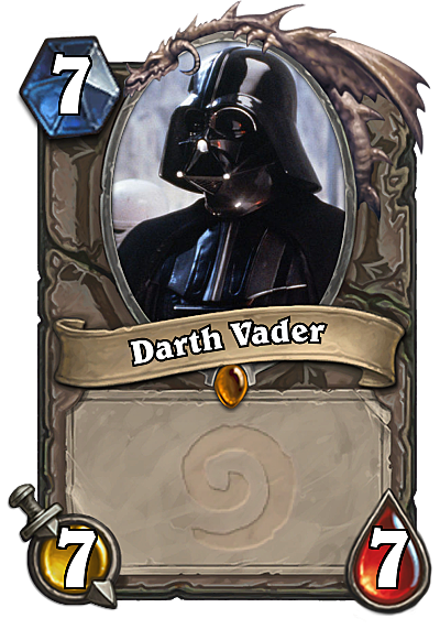 star wars meets hearthstone in this amazing mashup