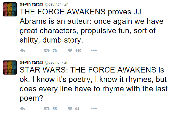 Twitter reviews Star Wars: The Force Awakens