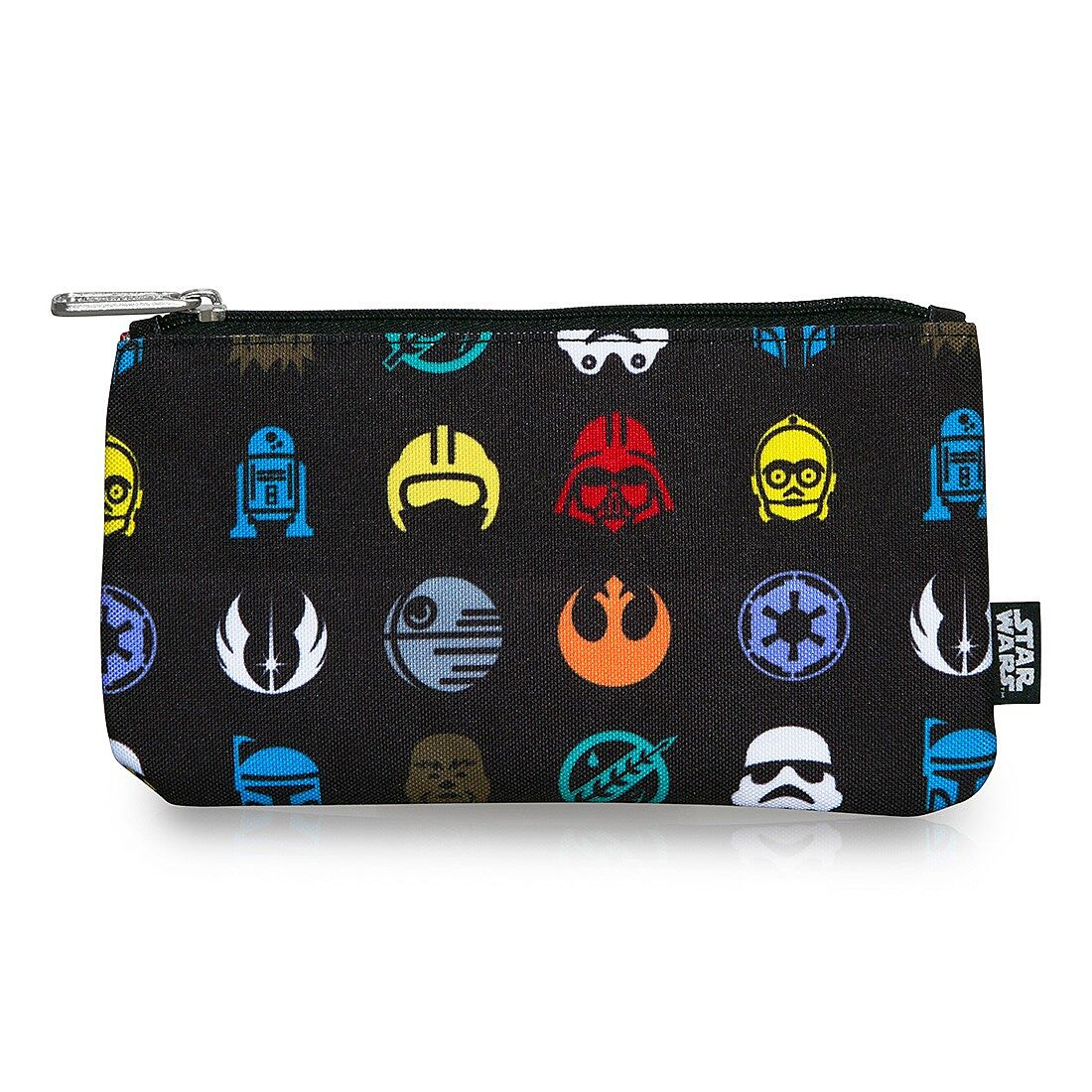 46b639b2940 Star Wars Multi Symbol Print Coin Cosmetic Bag –  9.00. Image credit   Loungefly