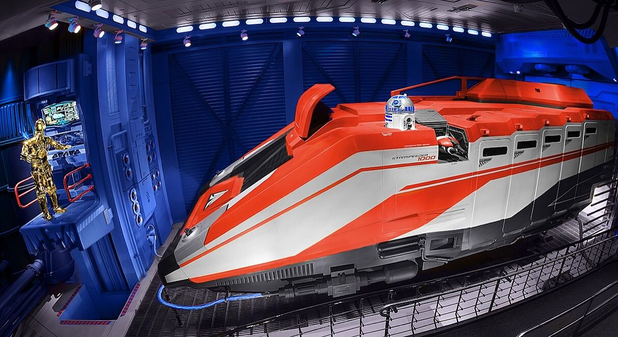 Star Tours Changes Each Ride