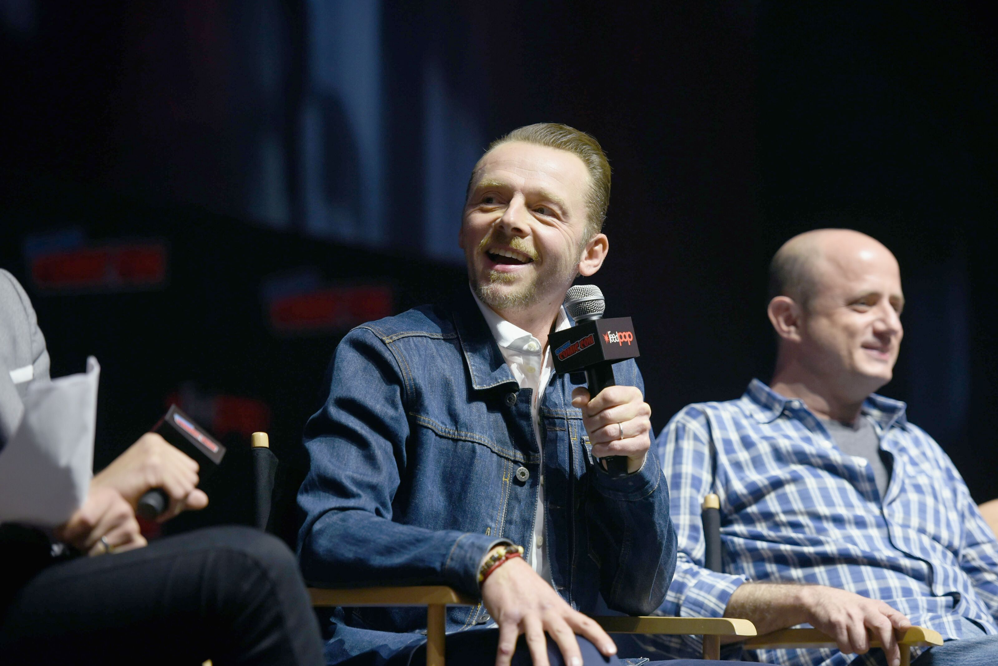 Simon Pegg changes his view of George Lucas and Star Wars