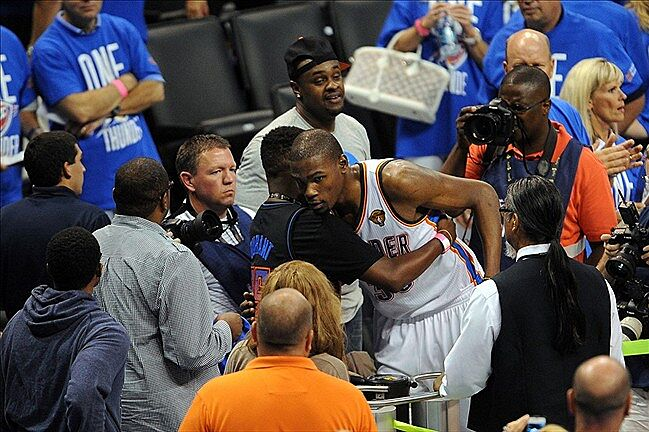 72f68e1ce05 2012 NBA Finals  Durant And Westbrook Take The Second Half And Game 1
