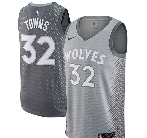 Karl-Anthony Towns Minnesota Timberwolves Nike Youth Name   Number T-Shirt 76f297c52