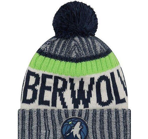 Minnesota Timberwolves New Era 9FIFTY Adjustable Snapback Hat 9950fe7d898
