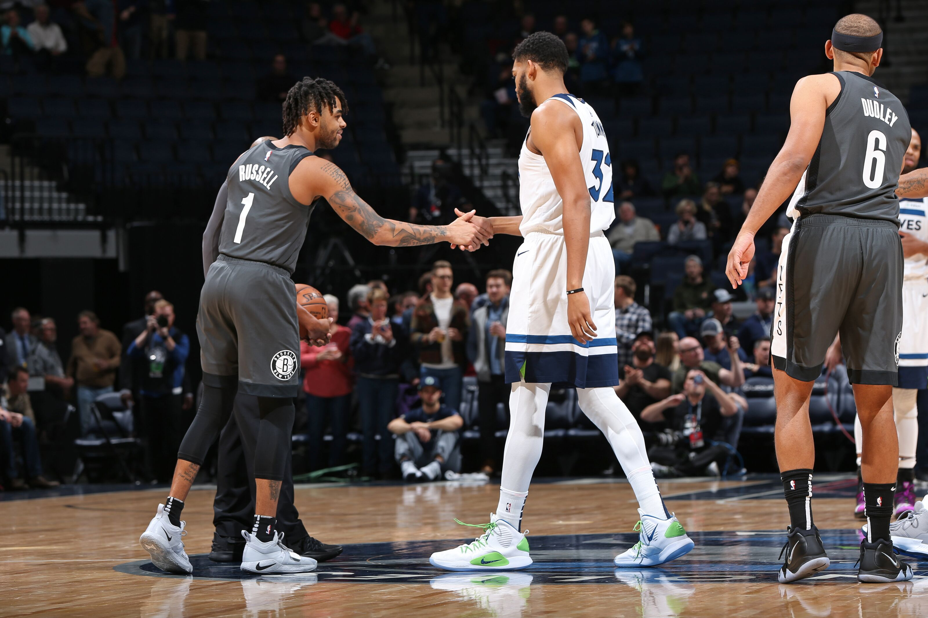 19068c2c Minnesota Timberwolves: D'Angelo Russell has ties to the organization
