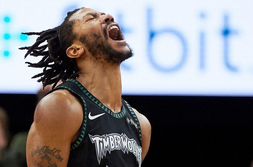 reputable site 59ed3 ae530 Minnesota Timberwolves: Derrick Rose drops 50, Wolves beat Jazz