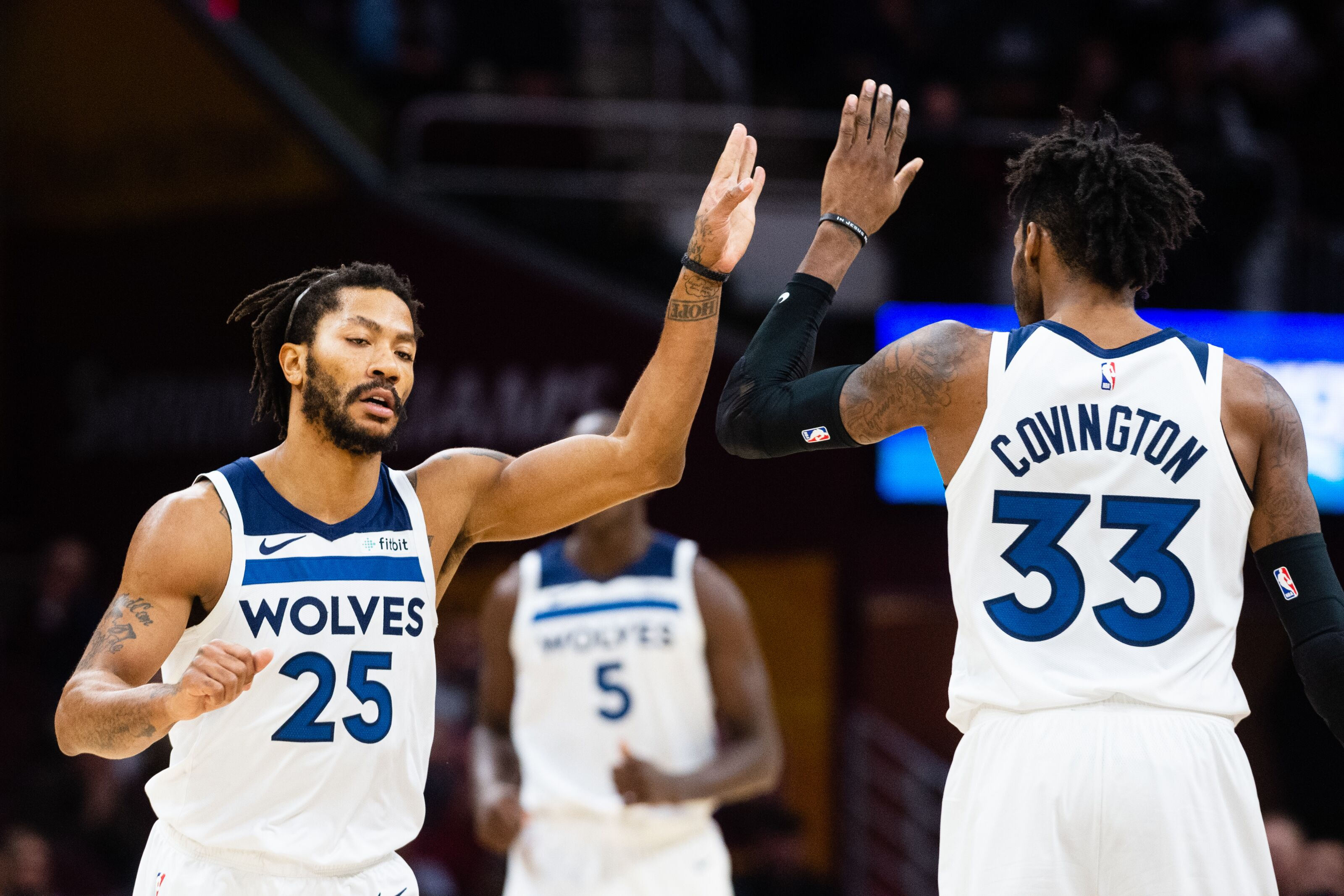 Minnesota Timberwolves  Towns and Covington lead Wolves over Cavs f3756edbd
