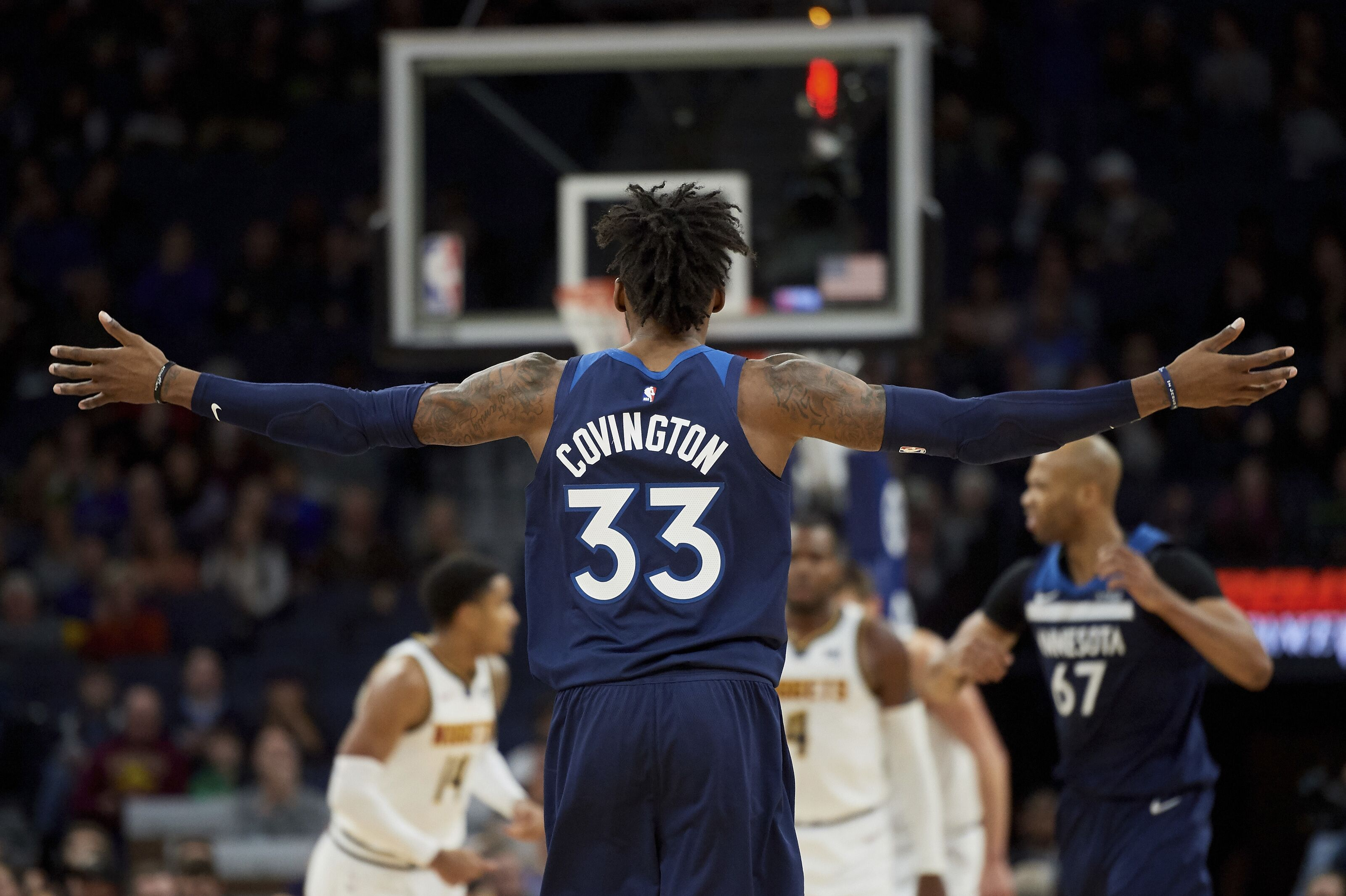 Minnesota Timberwolves  The Robert Covington Effect 5232c939f