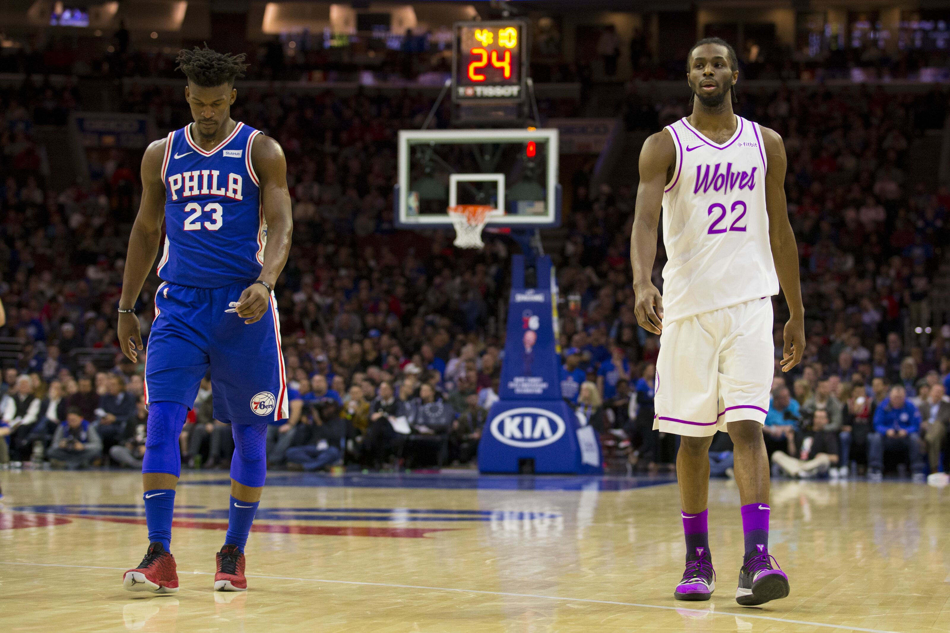 Minnesota Timberwolves  Takeaways from Wolves loss to Sixers 53df78fee