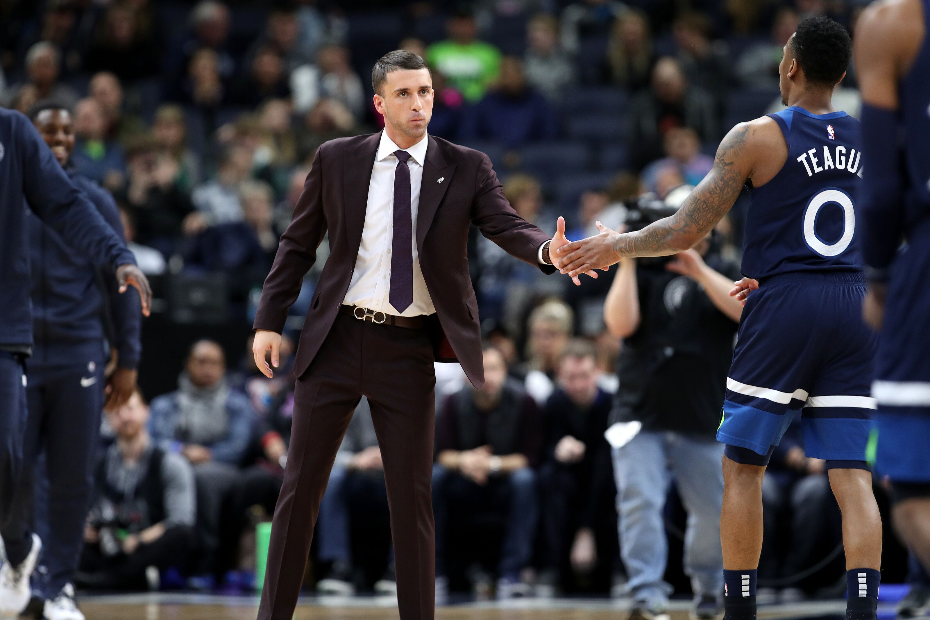 Minnesota Timberwolves Roundup: Coaching search, Teague opts in
