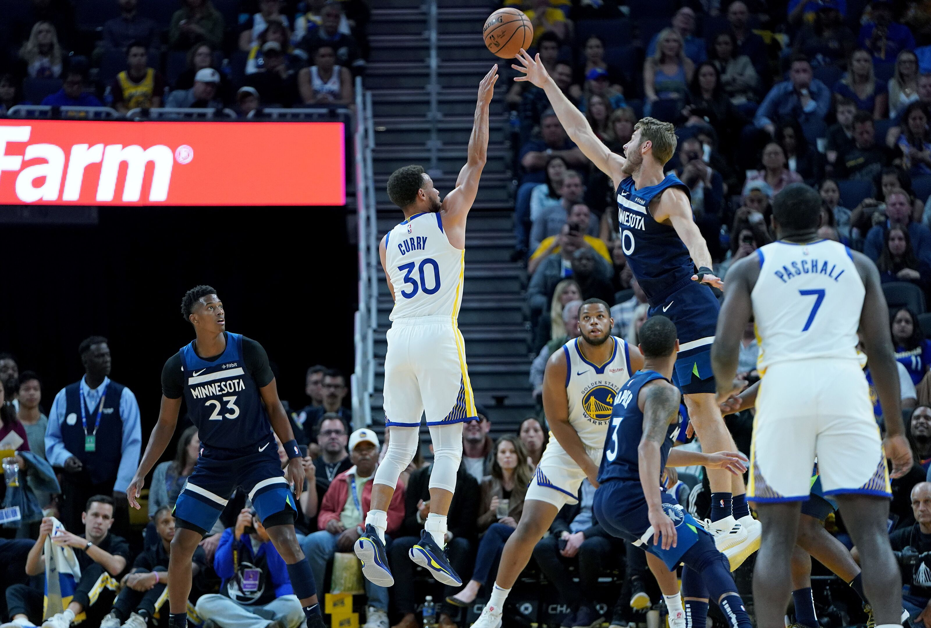 The Warriors showed how far the Minnesota Timberwolves' offense has to go