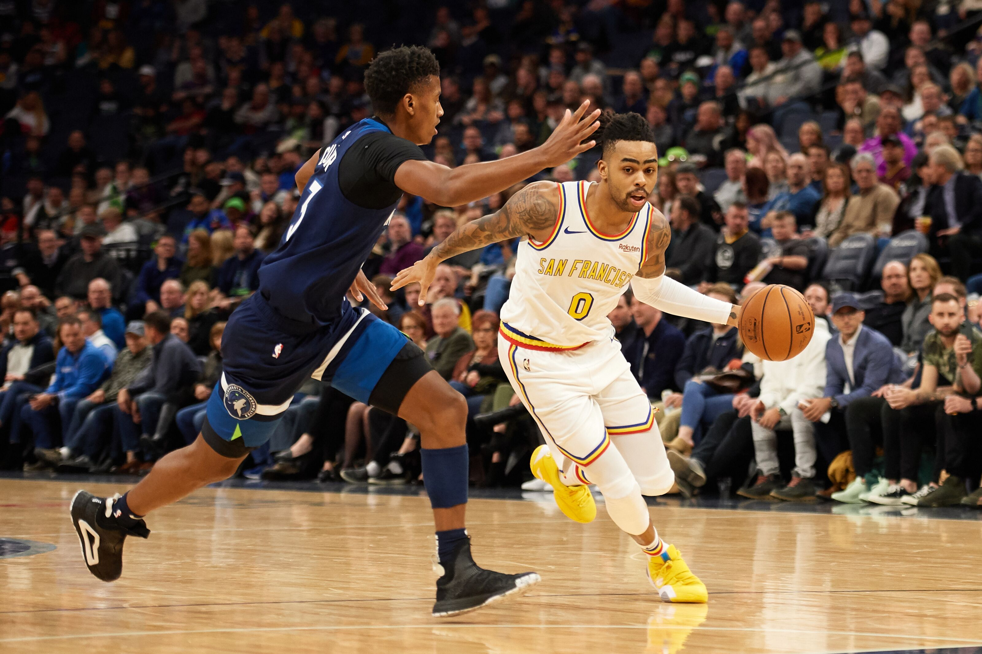 Trading for D'Angelo Russell won't be complicated for the Minnesota Timberwolves