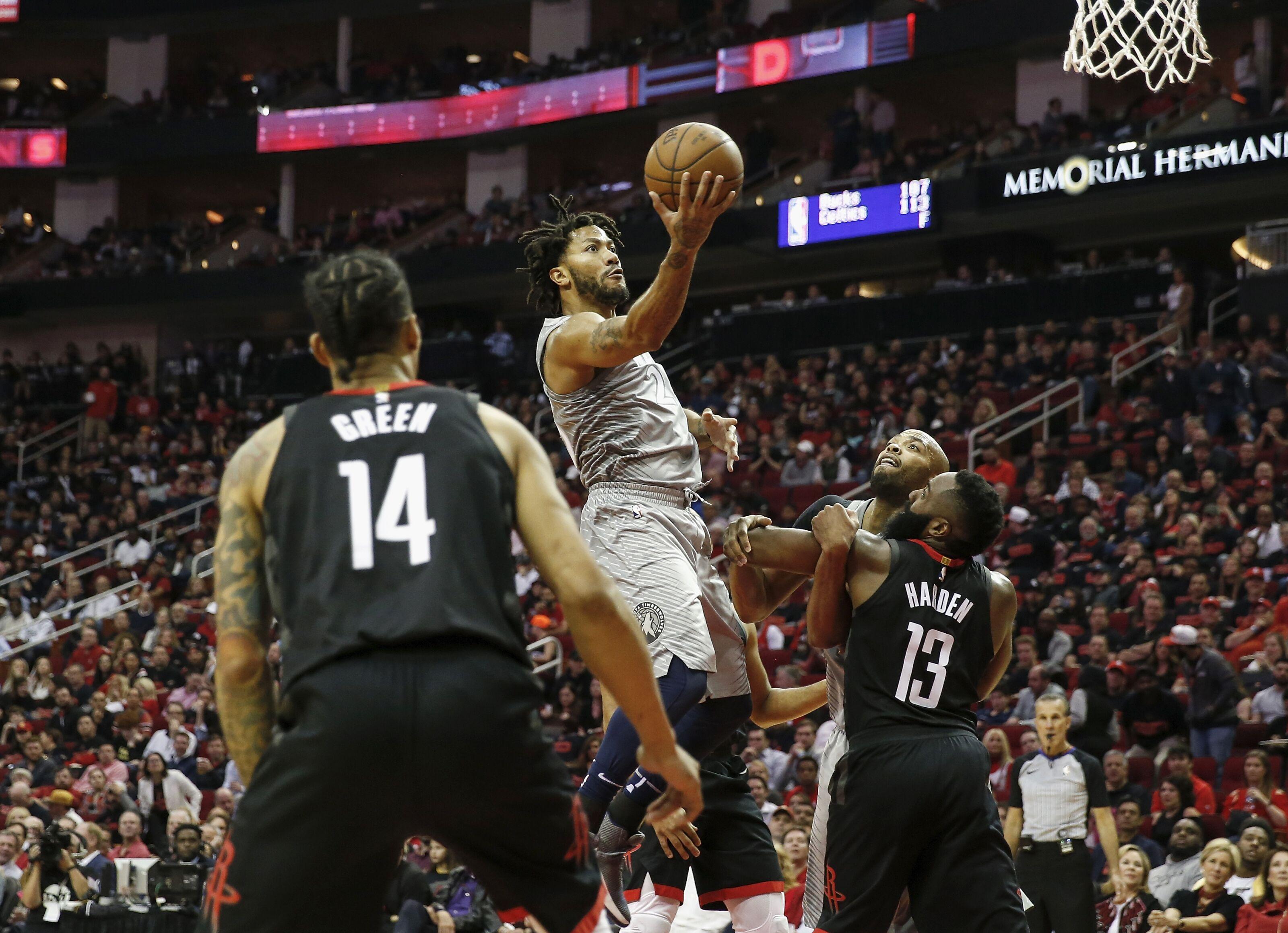1a16f4ec6fa8 Minnesota Timberwolves Player Review  Derrick Rose