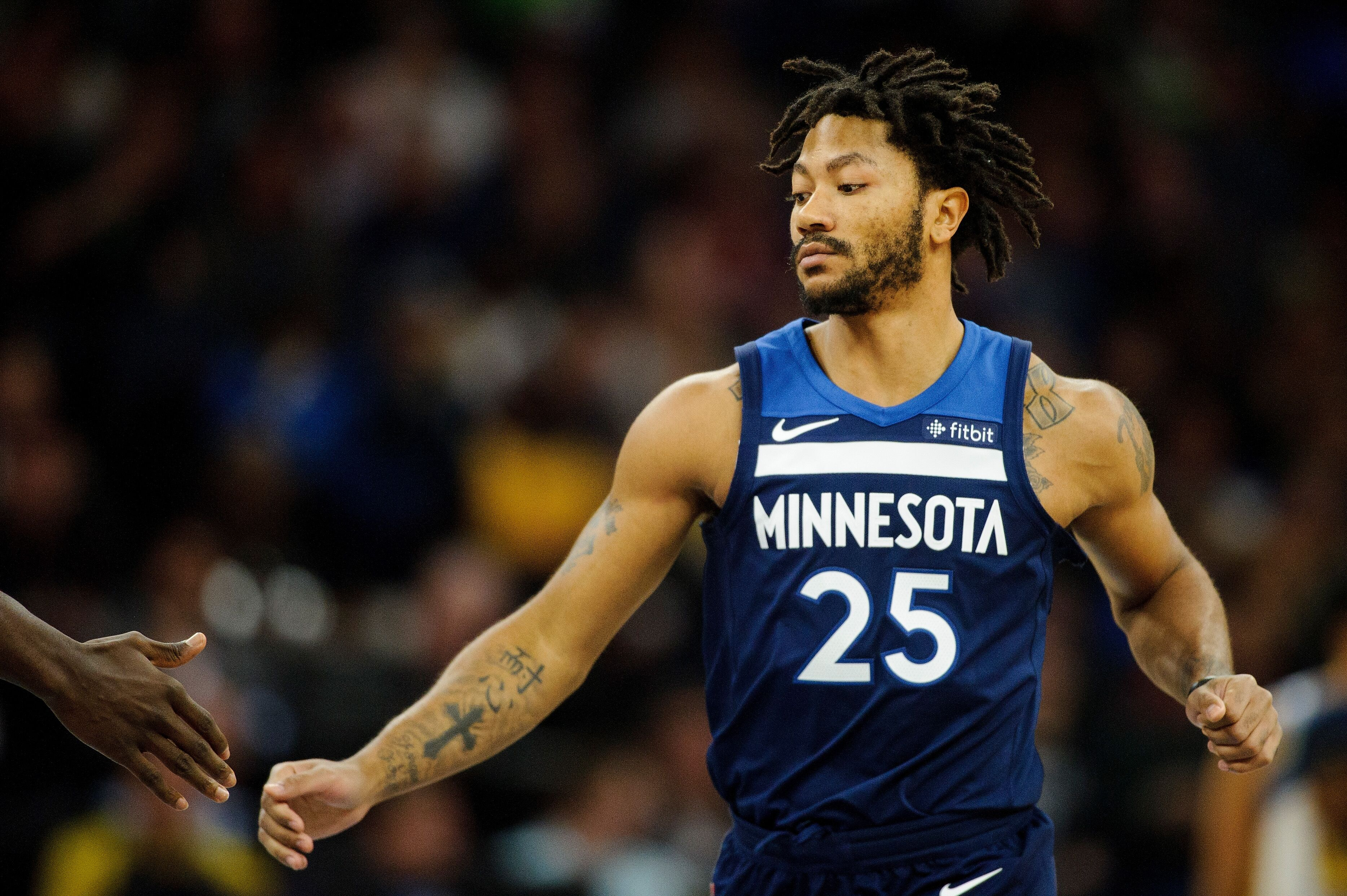 8ed3ad877 Is this a new beginning forTimberwolves  guard Derrick Rose