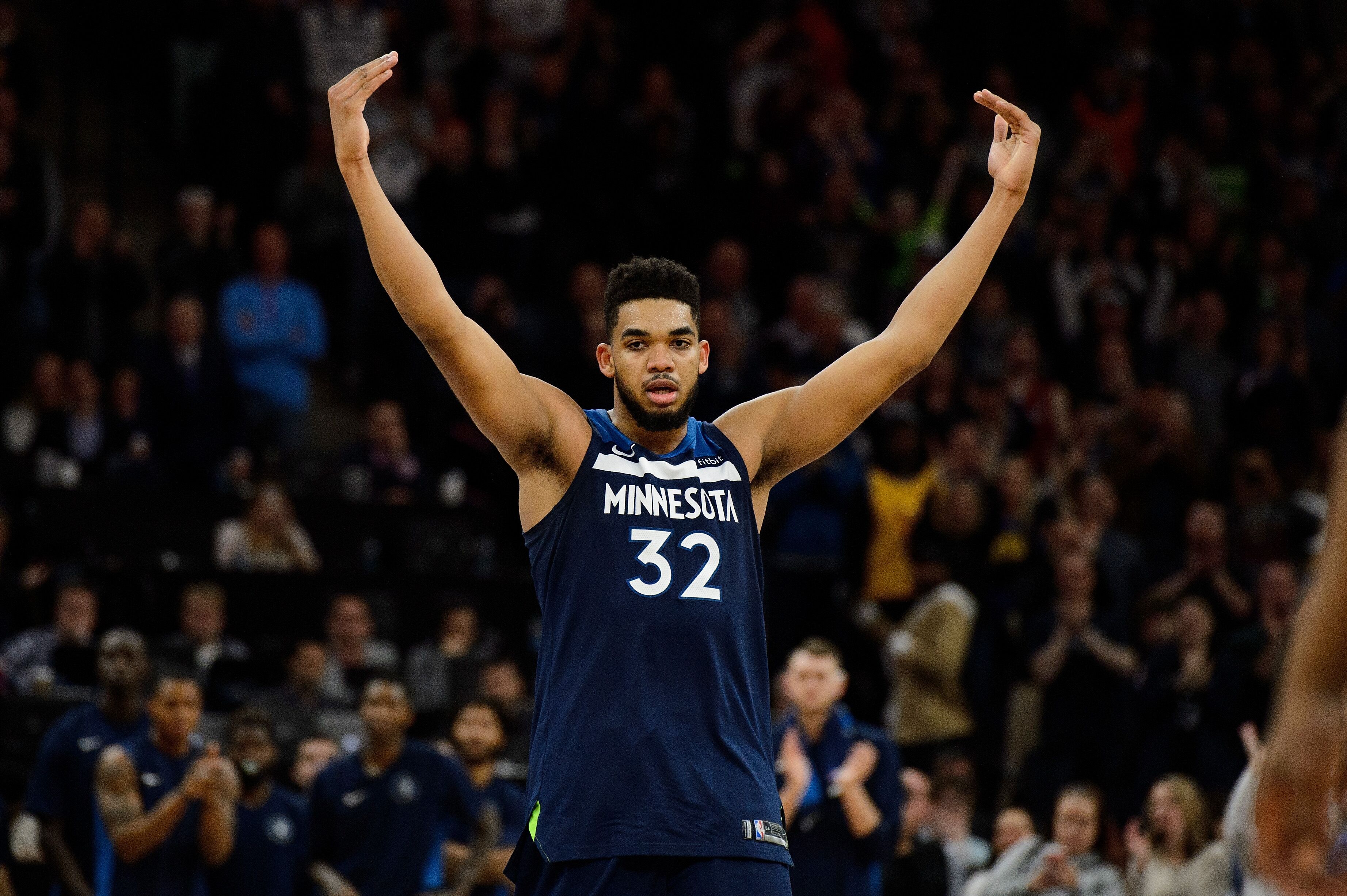 Karl-Anthony Towns is having a unique, historic season
