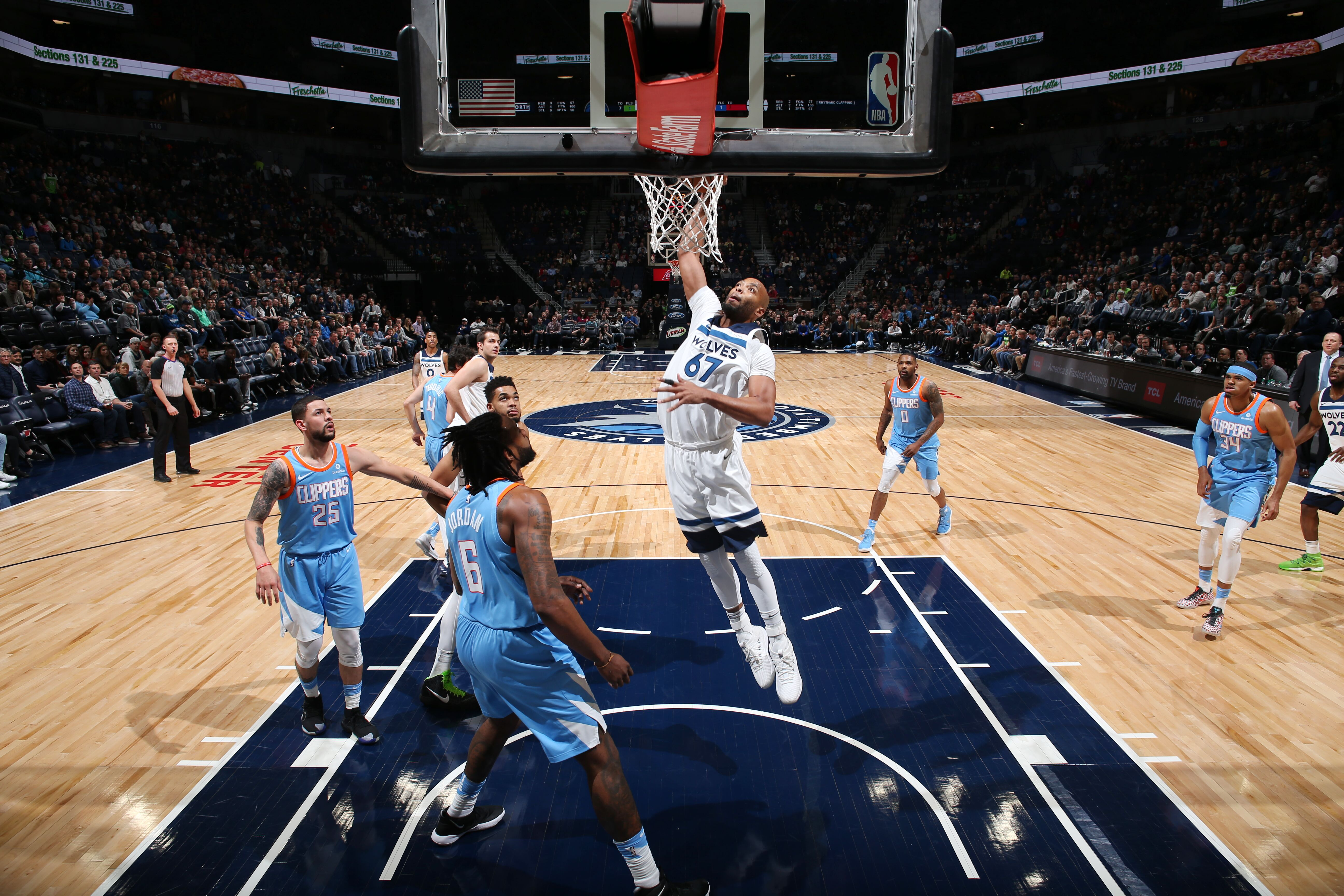 181ef5fd01c5c3 Timberwolves Wrap  A balanced win over the Clippers