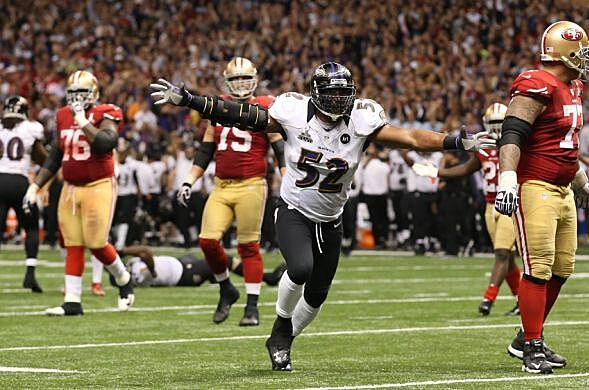 Ray Lewis Football Hits: Baltimore Ravens: Top 10 Linebackers Of All Time