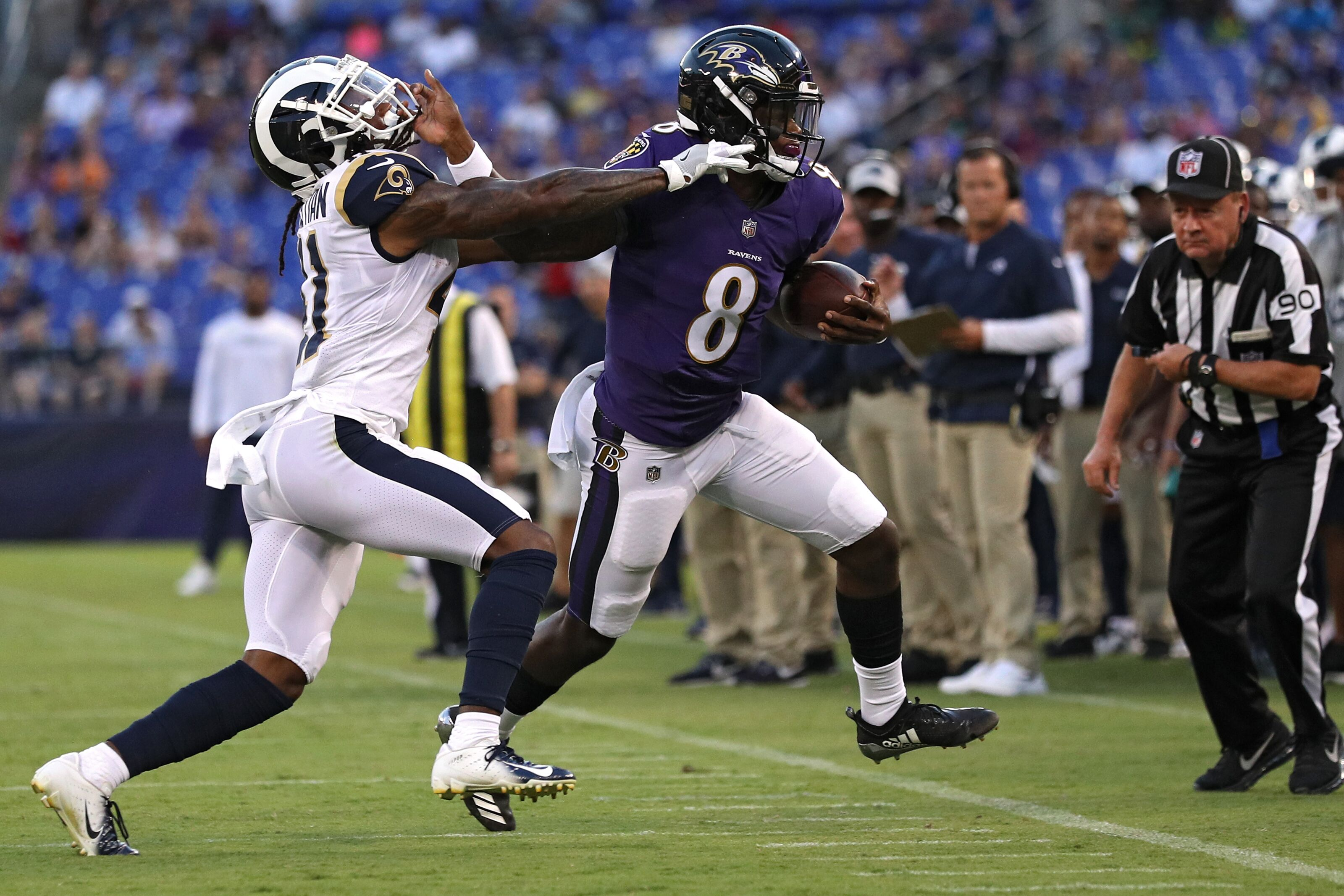 f10cde25 Baltimore Ravens destroy Rams: 6 players whose stock is up - Page 3
