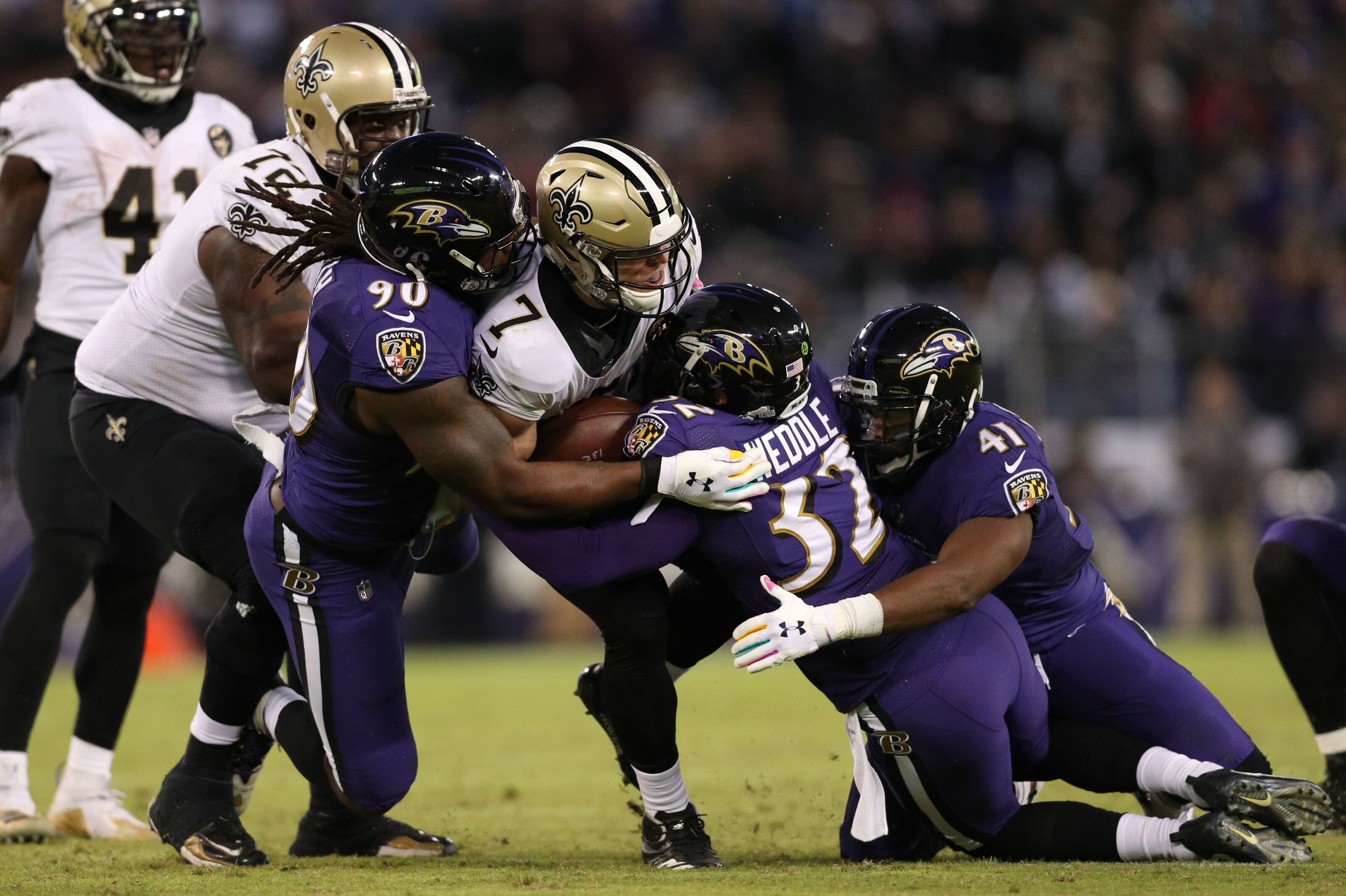 Ravens vs. Saints  The good aefb2d68a