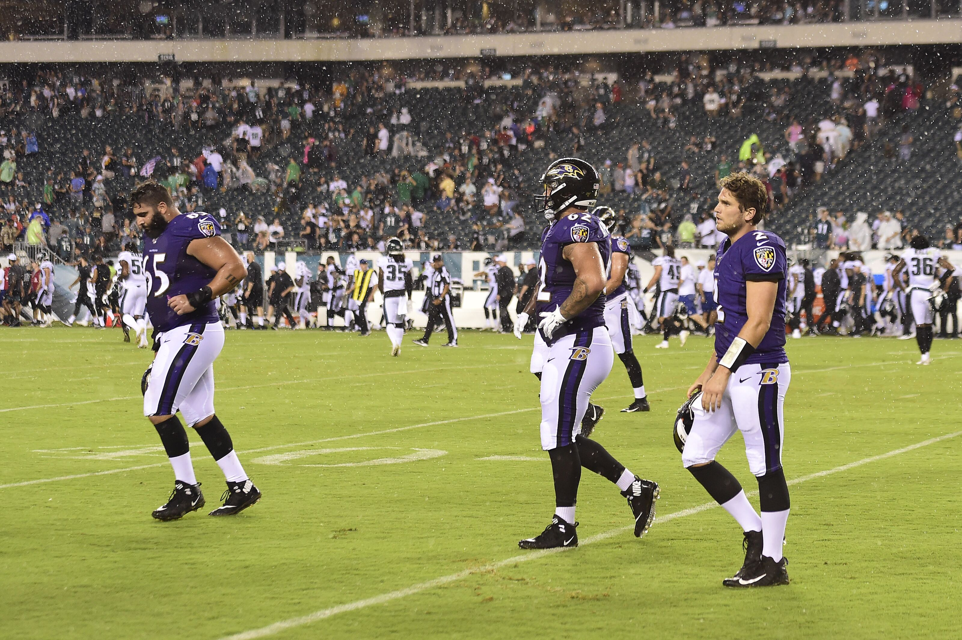 pretty nice cf2b3 55832 Month at a glance: Baltimore Ravens had eventful August