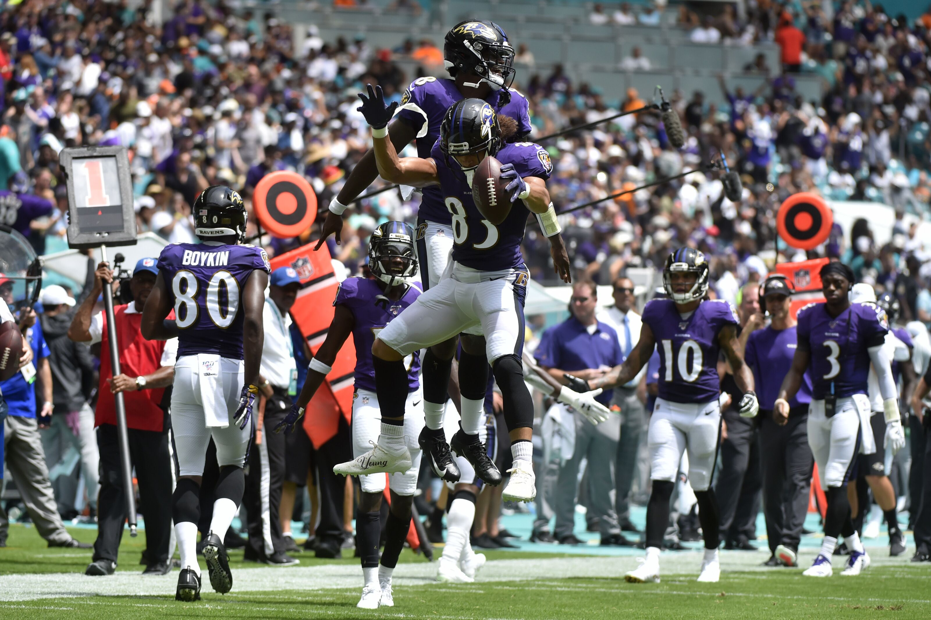Baltimore Ravens need to spread ball around more in passing attack