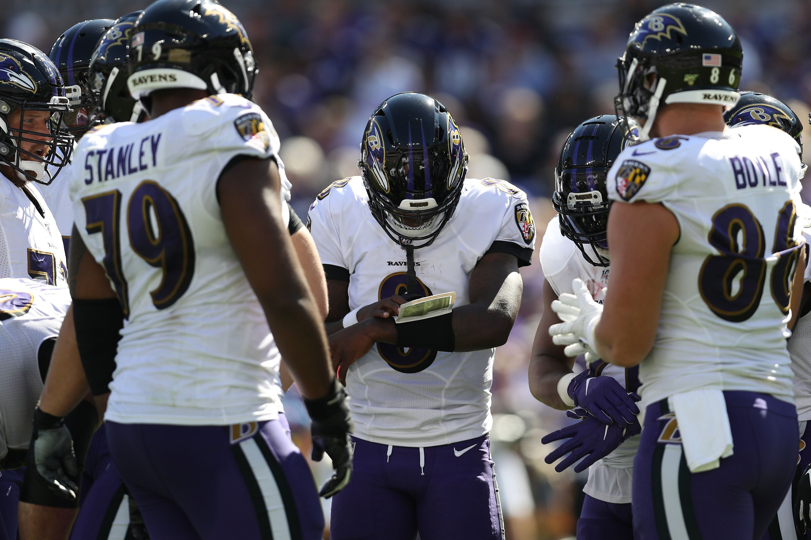 Ravens belief in Lamar Jackson won the game against Cardinals