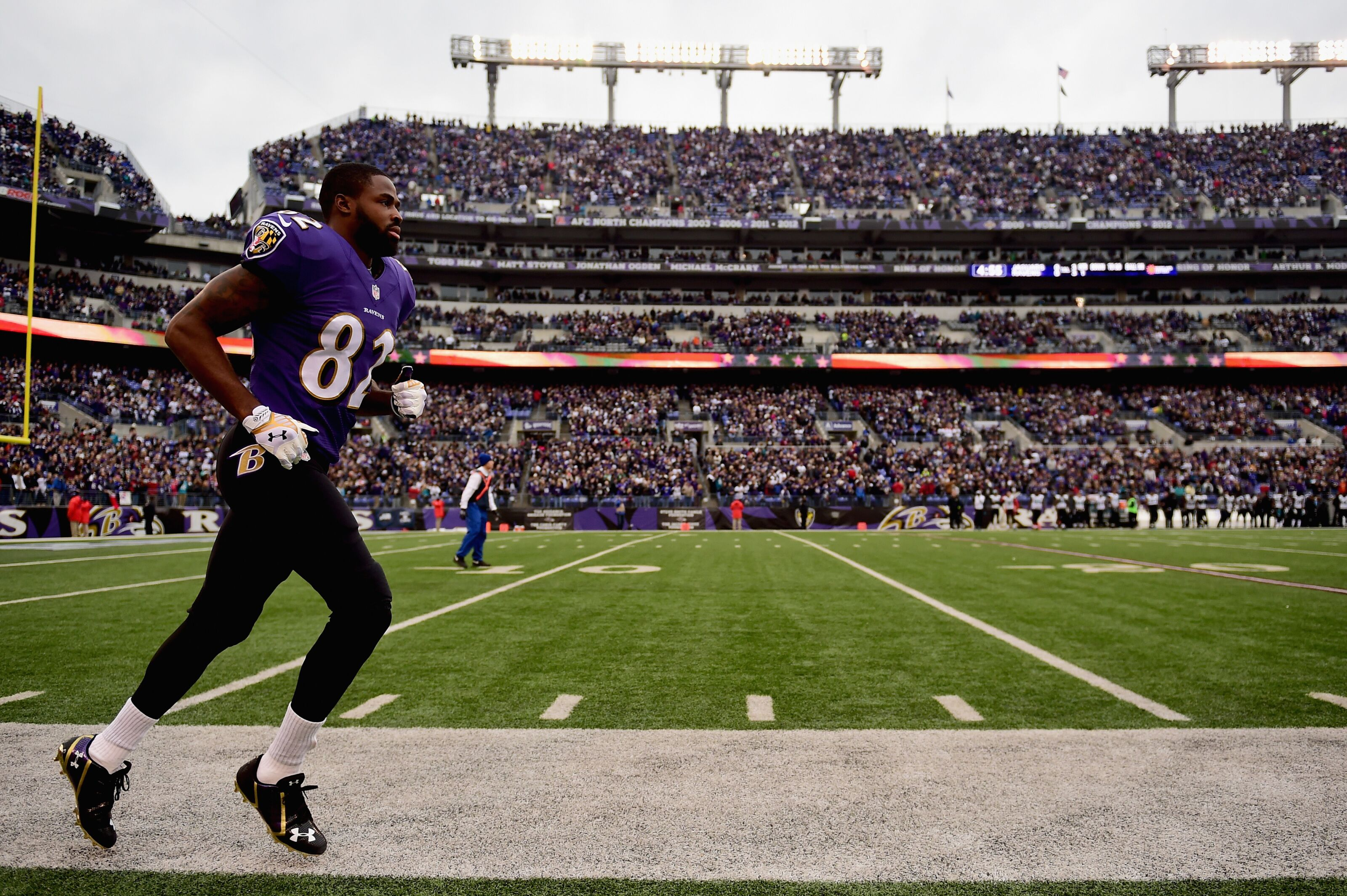 Torrey Smith: Top-five moments with the Baltimore Ravens