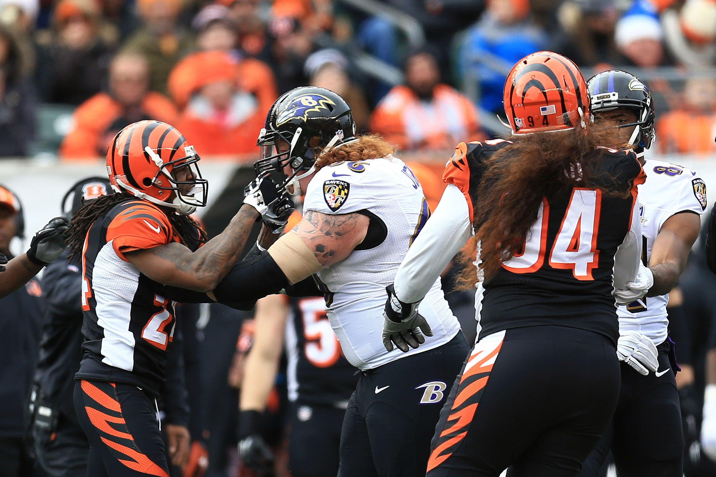 Baltimore Ravens Factoring in the offensive line problems