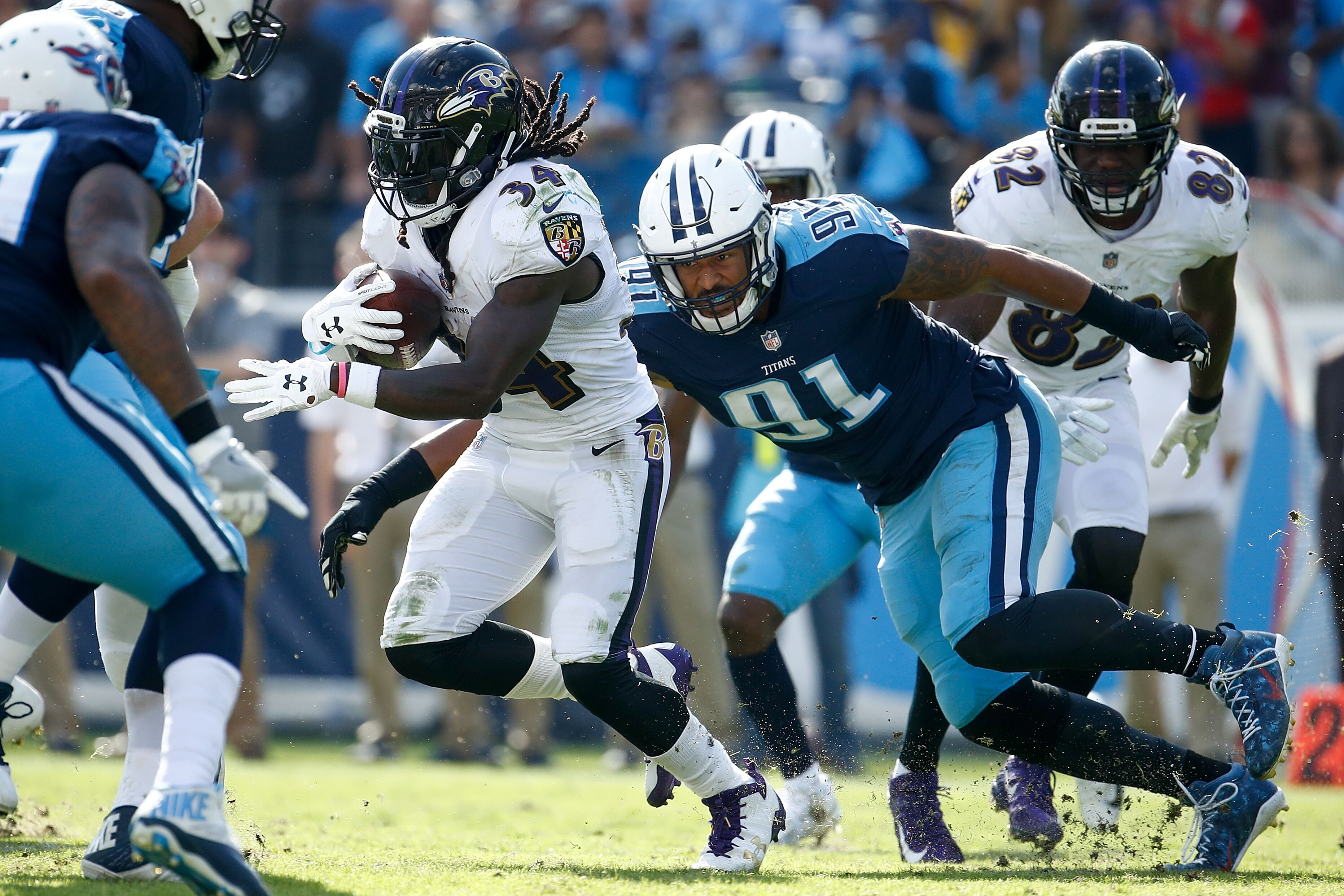 One year after signing him to a threeyear 165 million contract the Titans release nose tackle Sylvester Williams