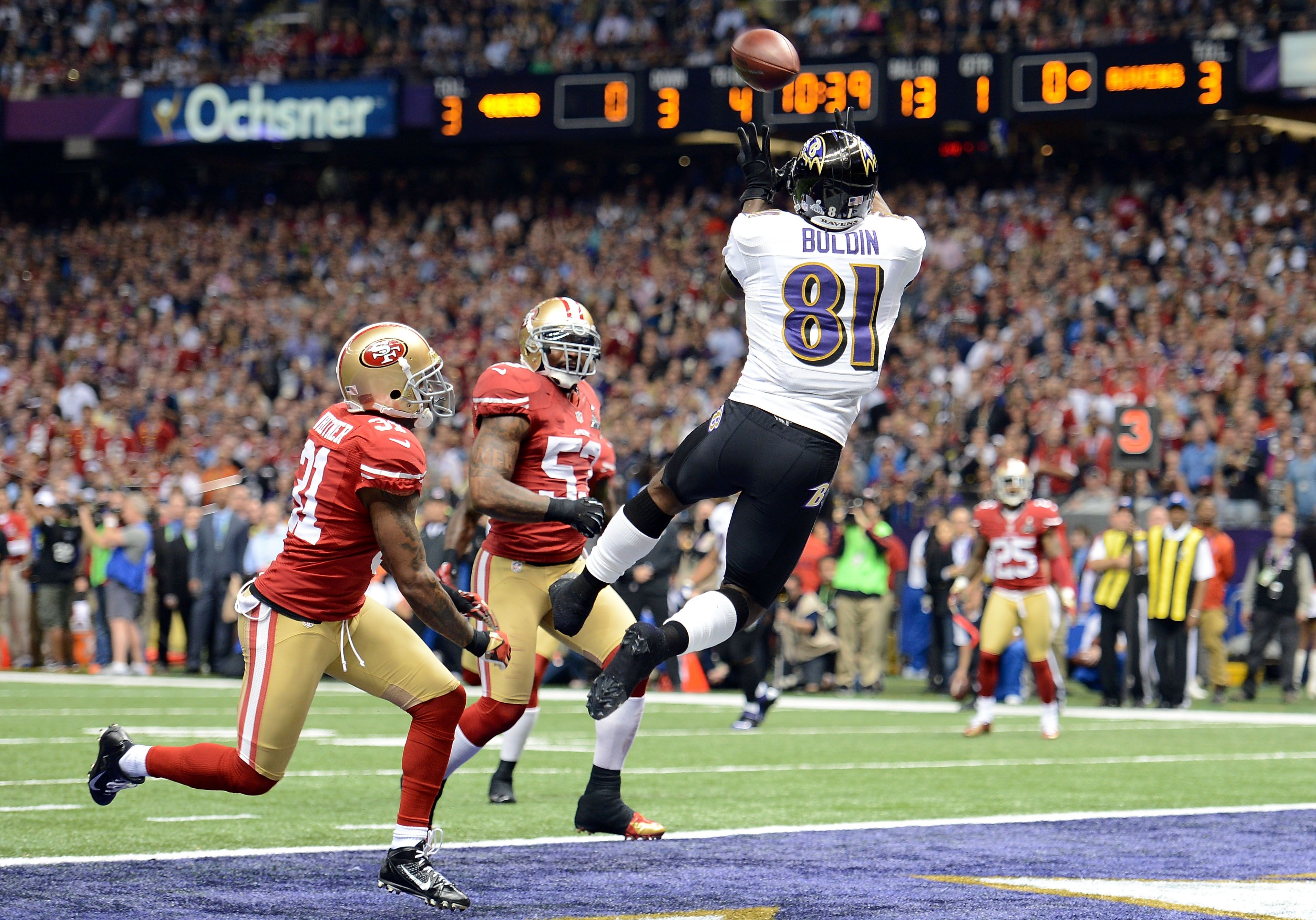 Baltimore Ravens vs. Buffalo Bills: Anquan Boldin is legend of the game