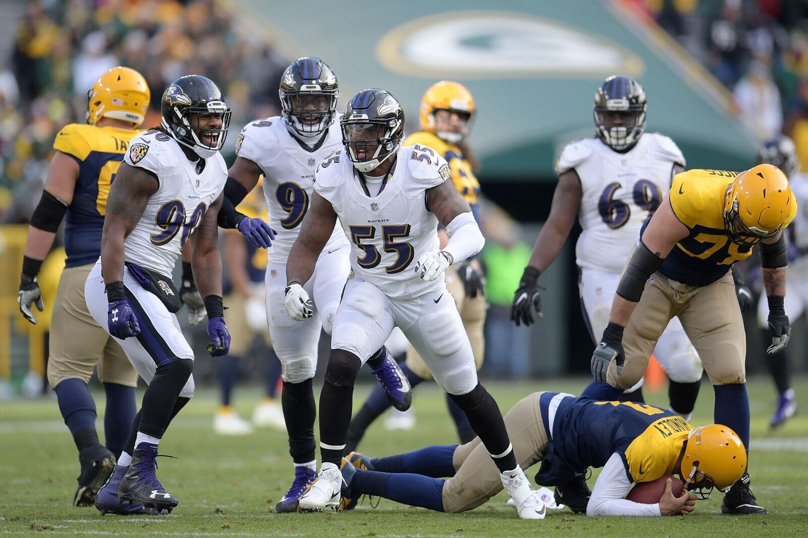 2c77d0a27 Terrell Suggs  How far can he climb the All-Time Sack List