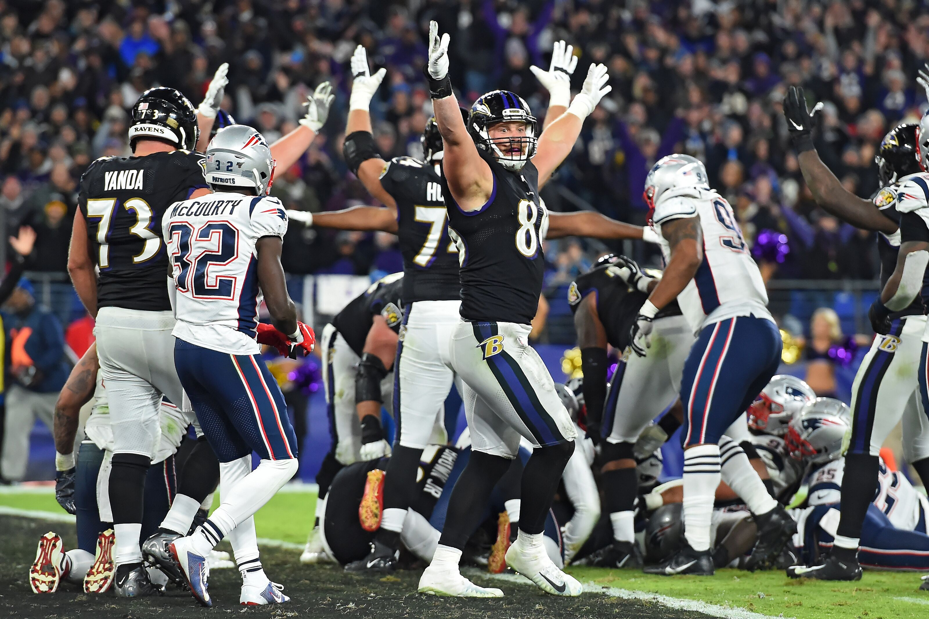 Top Takeaways from Baltimore Ravens win over New England Patriots