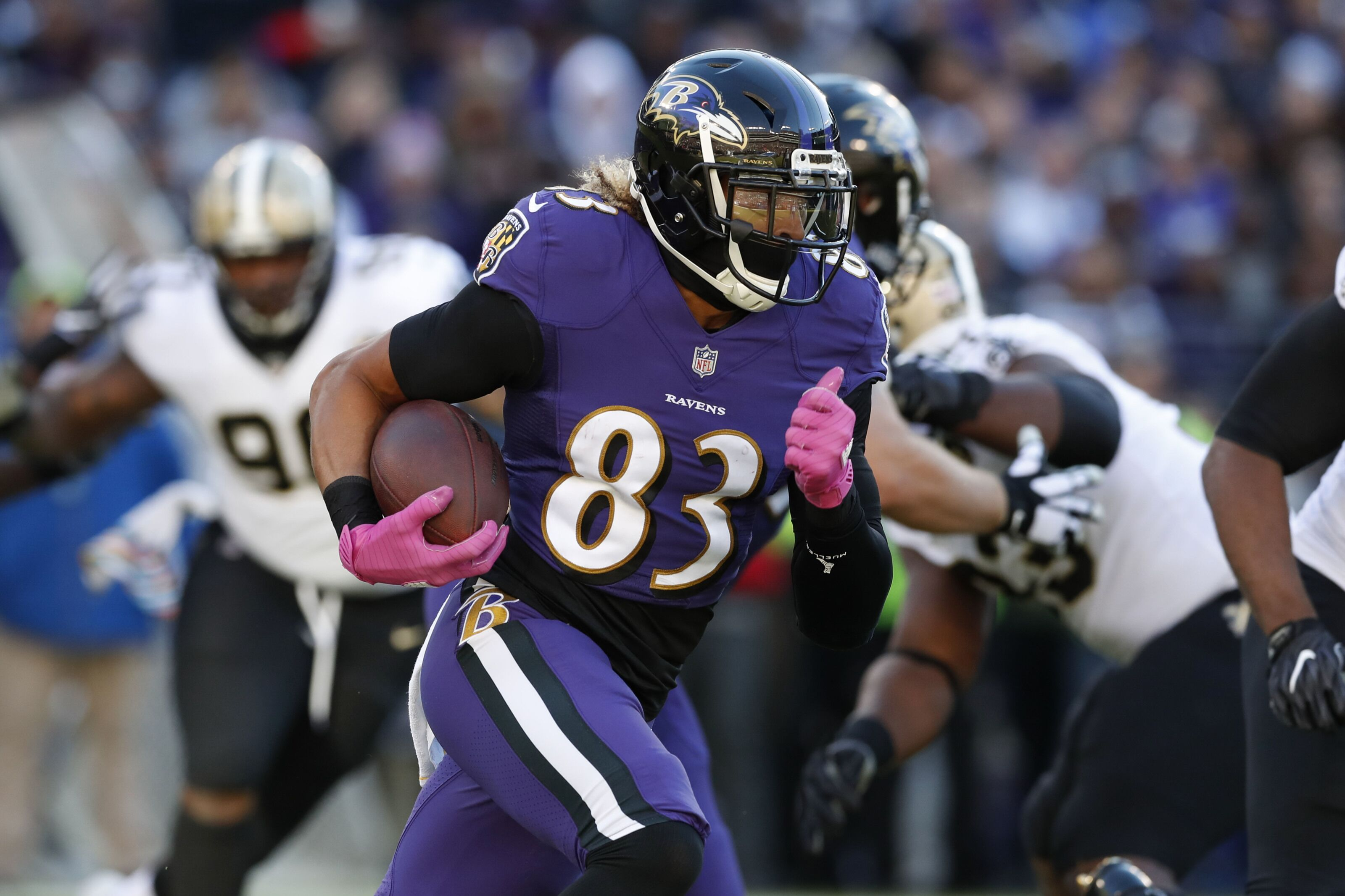 5d039e33 Baltimore Ravens: Projecting which wide receivers make 53 man roster