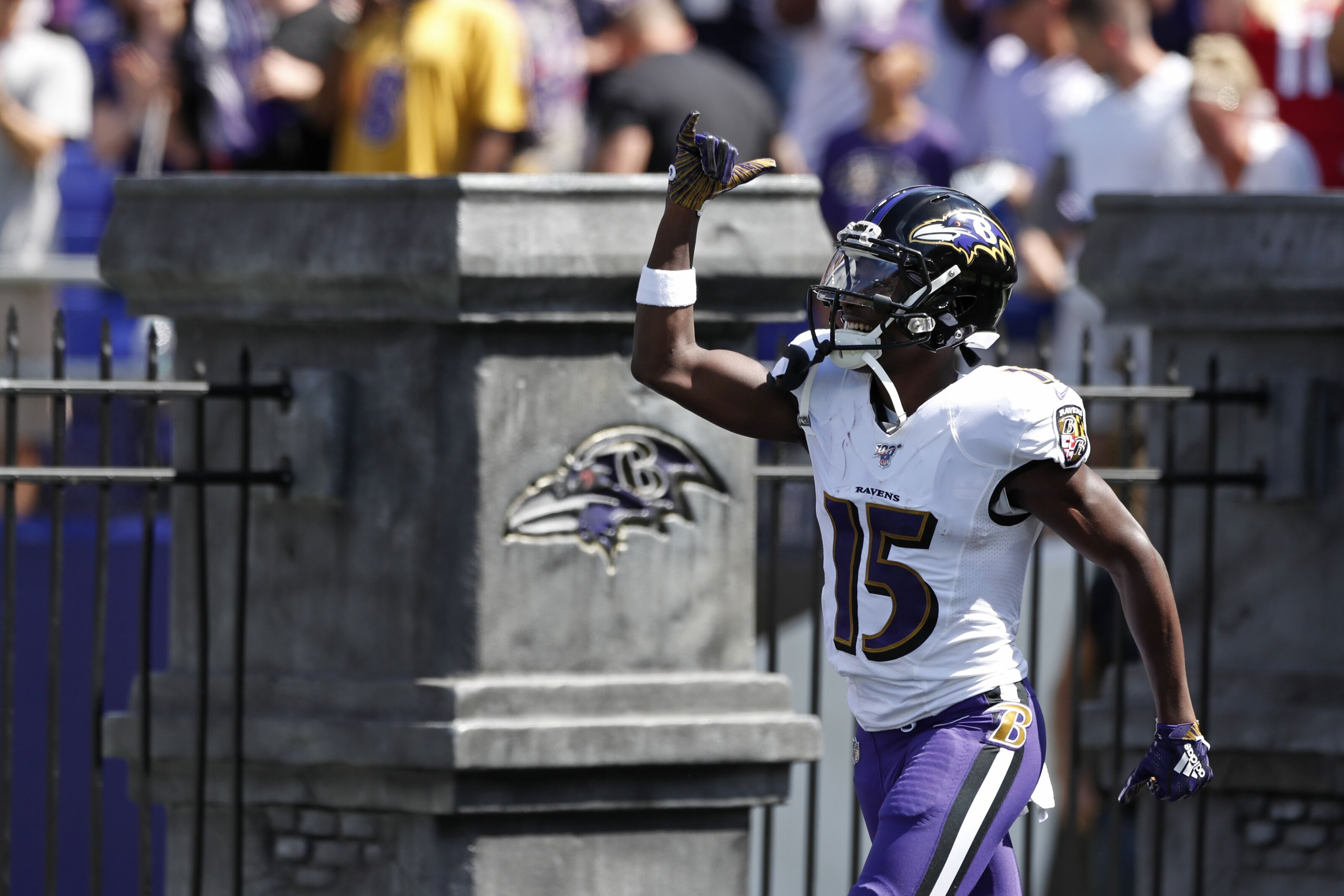 best sneakers 0a6d5 d18fd Baltimore Ravens: Week 3 Fantasy Football stock report