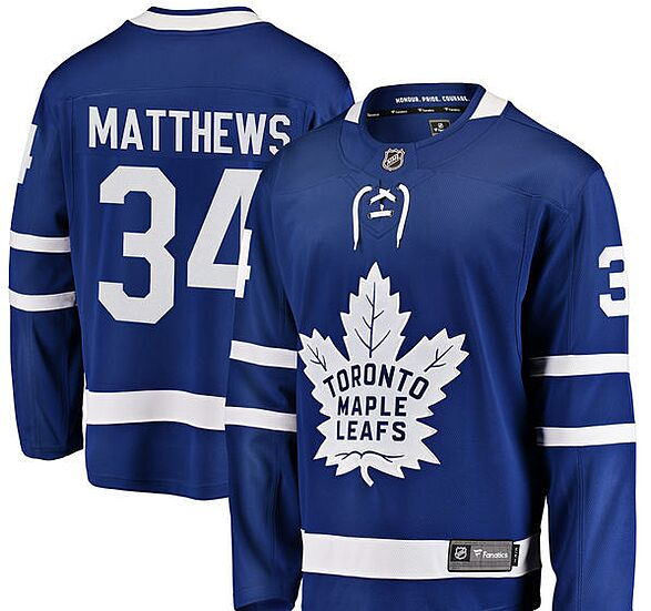 quality design f8465 518f5 Toronto Maple Leafs Gift Guide: 10 must-have Auston Matthews ...