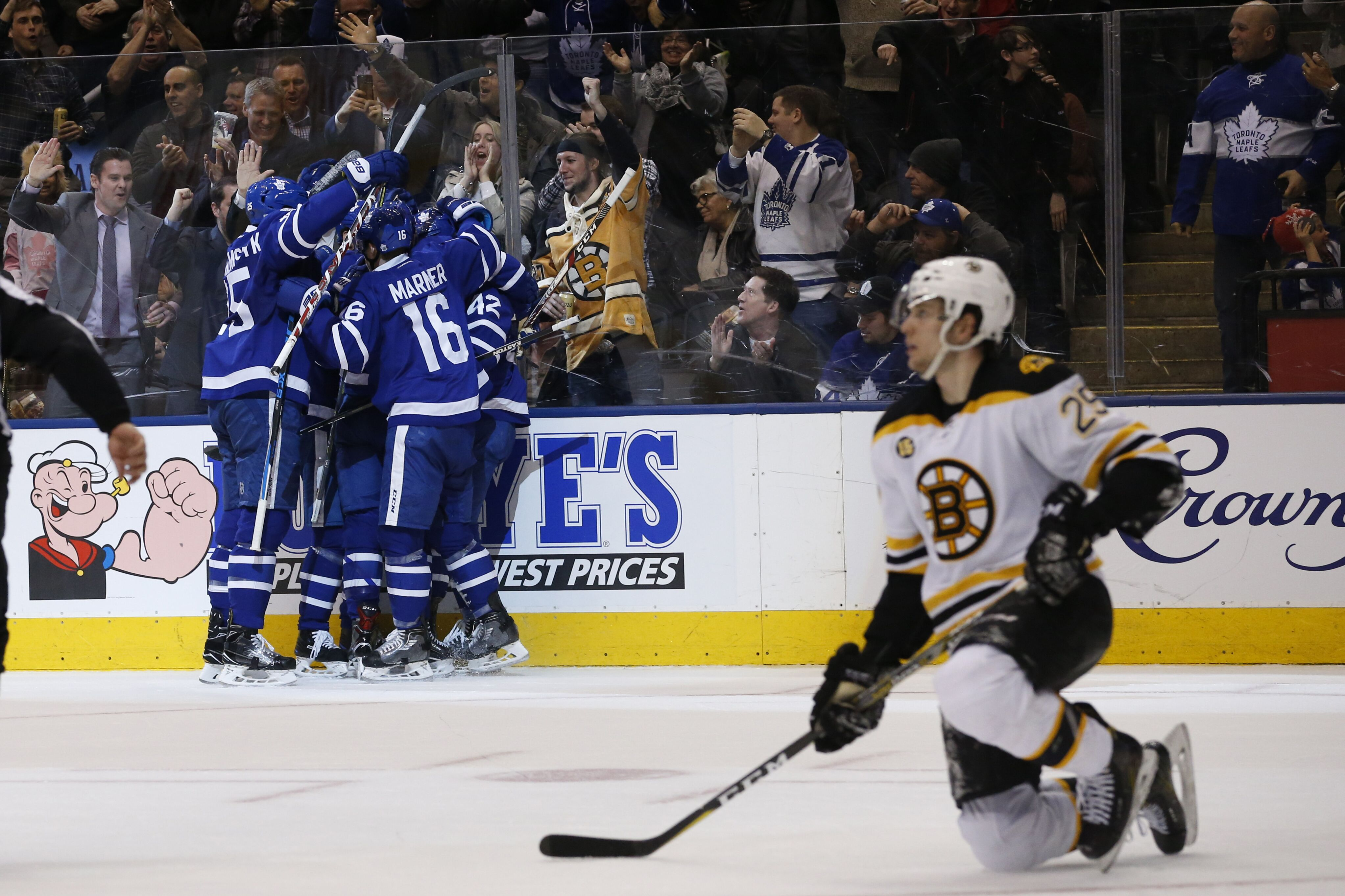 Toronto Maple Leafs: We're Shipping up to Boston