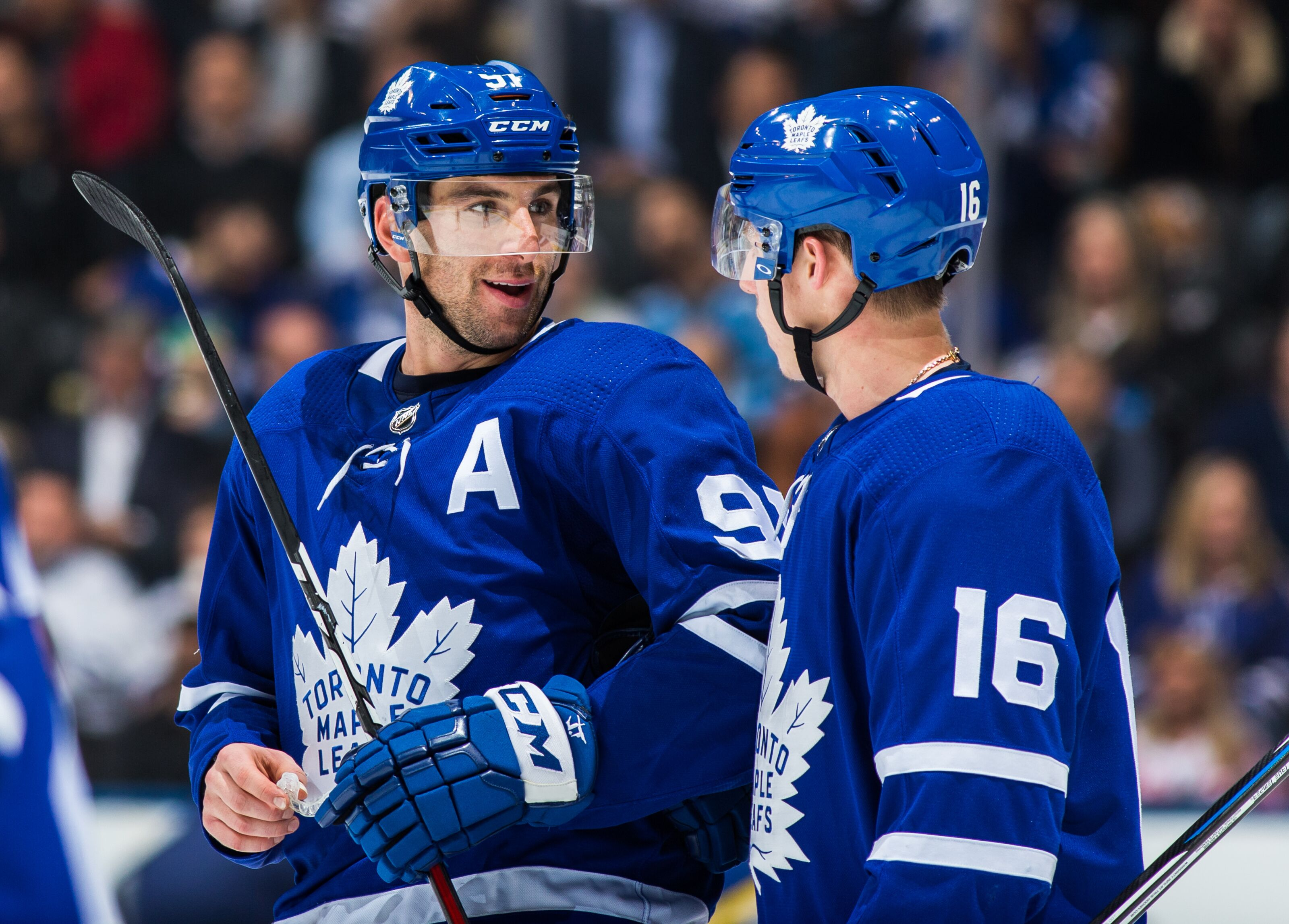 quality design 2489b 35698 Toronto Maple Leafs: Looking at John Tavares After 14 Games
