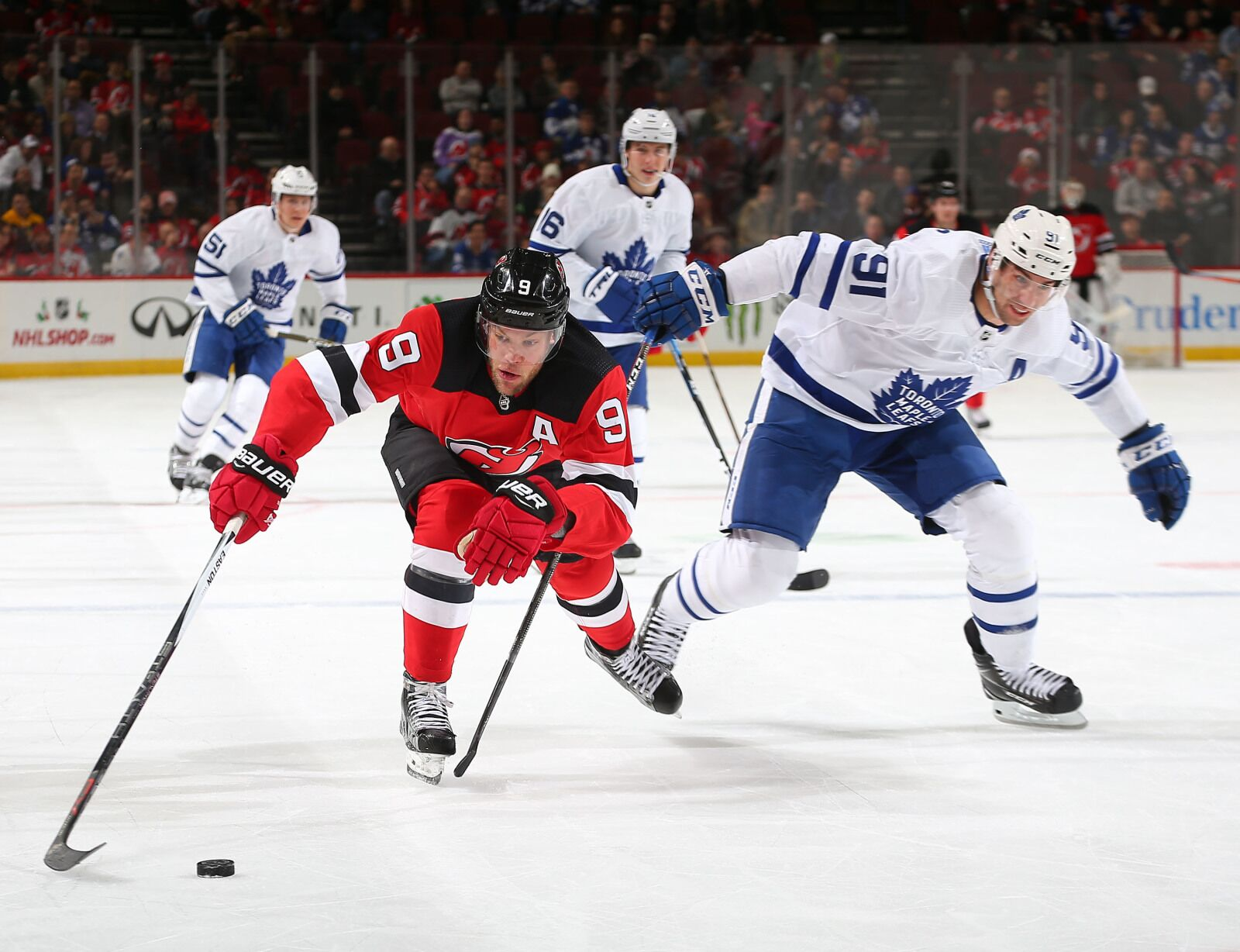 Are The Toronto Maple Leafs Involved in the Taylor Hall Sweepstakes?