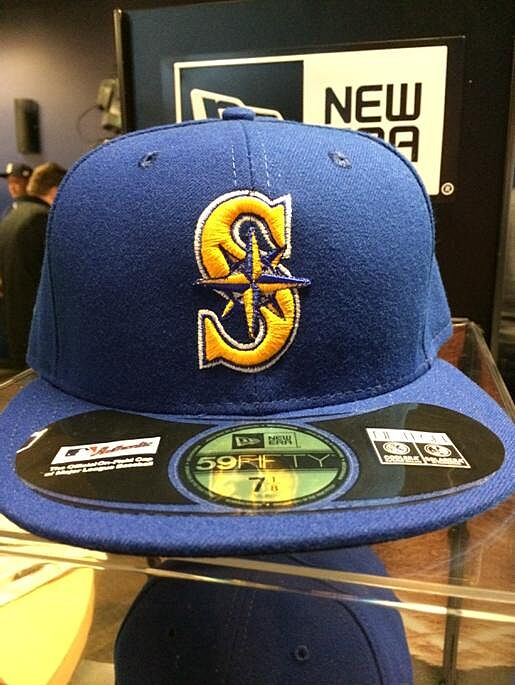 official photos 86219 60df0 ne mariners hat royal blue and gold