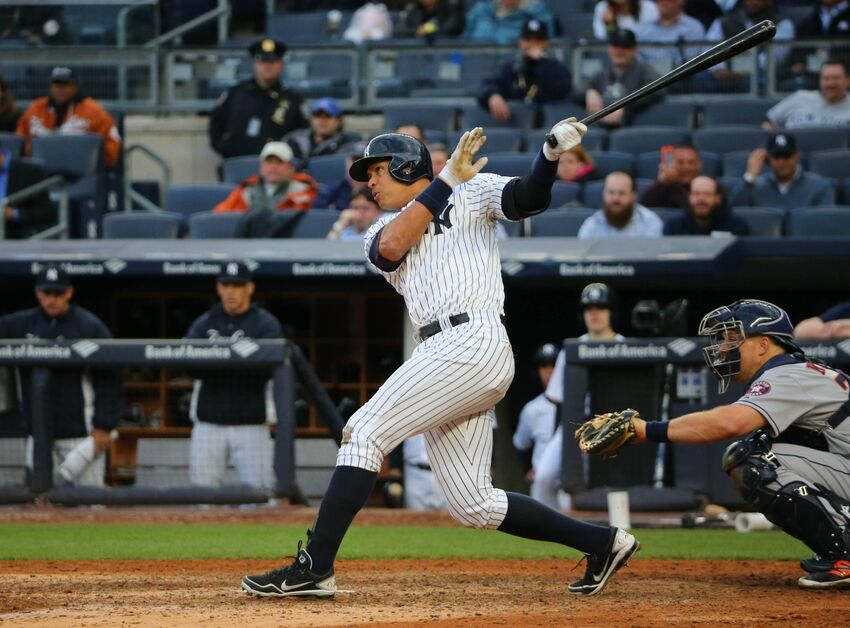 New york yankees alex rodriguez hits first home run video for Mercedes benz alex rodriguez houston