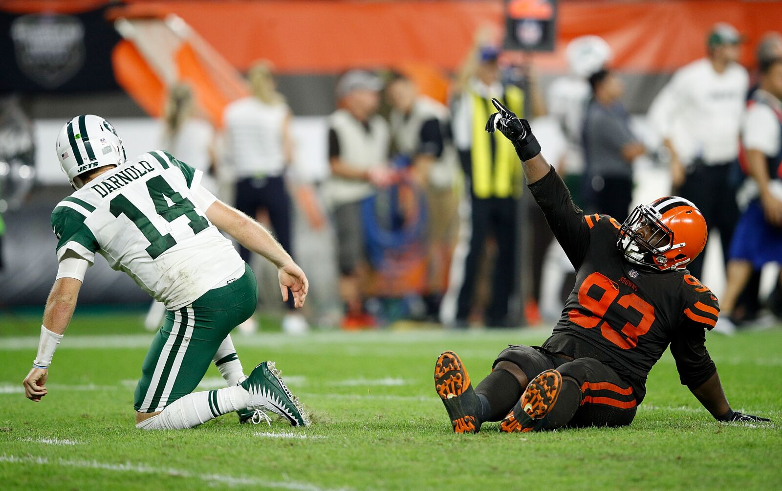 reputable site a7ec3 aa568 New York Jets  In depth numbers takeaways from the loss to Cleveland